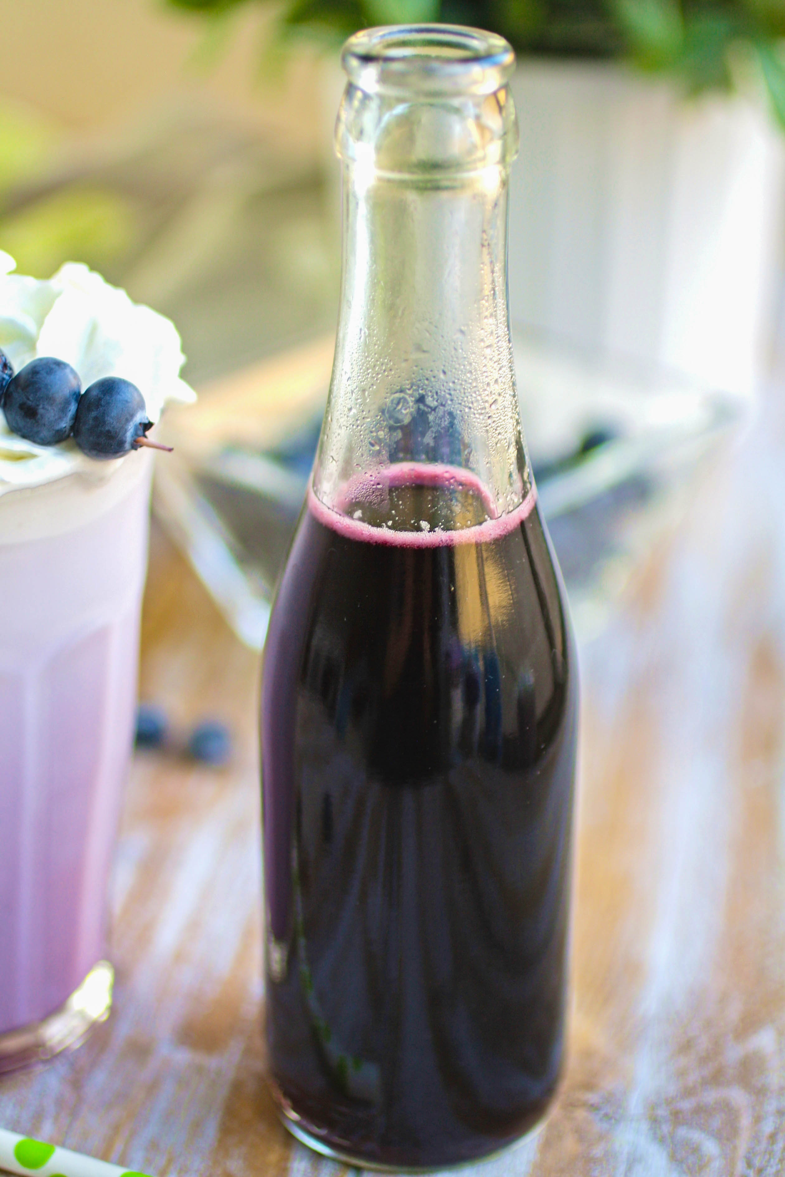 Blueberry Italian Cream Soda drinks are a treat, for sure! You'll love these Blueberry Italian Cream Soda drinks for their pretty color and flavor.