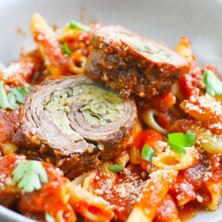 Beef Braciole is an Italian classic that is makes a lovely meal. You'll love this Beef Braciole.