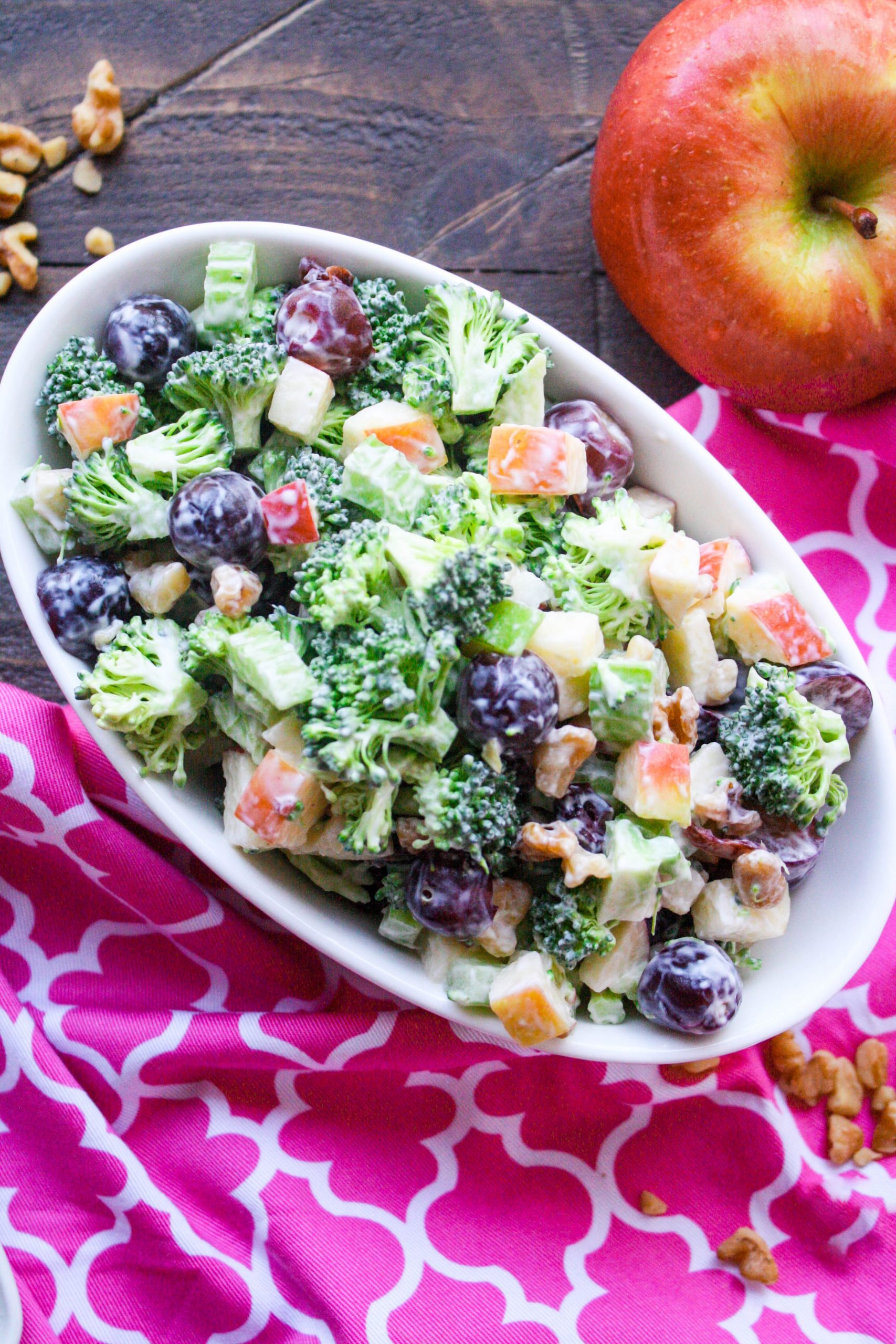 You won't be able to resist all that's in a Broccoli Waldorf Salad!