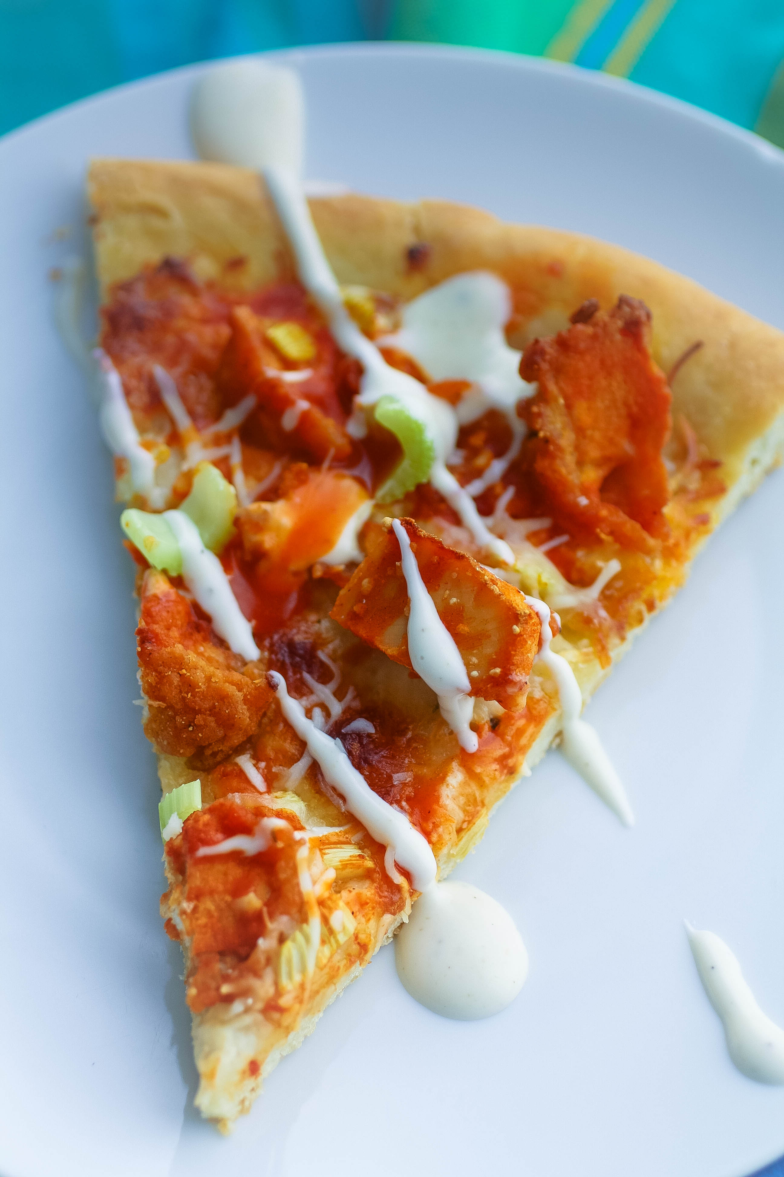 Buffalo Chicken Pizza is the best of two favorites: wings and pizza! You'll love this Buffalo Chicken Pizza!
