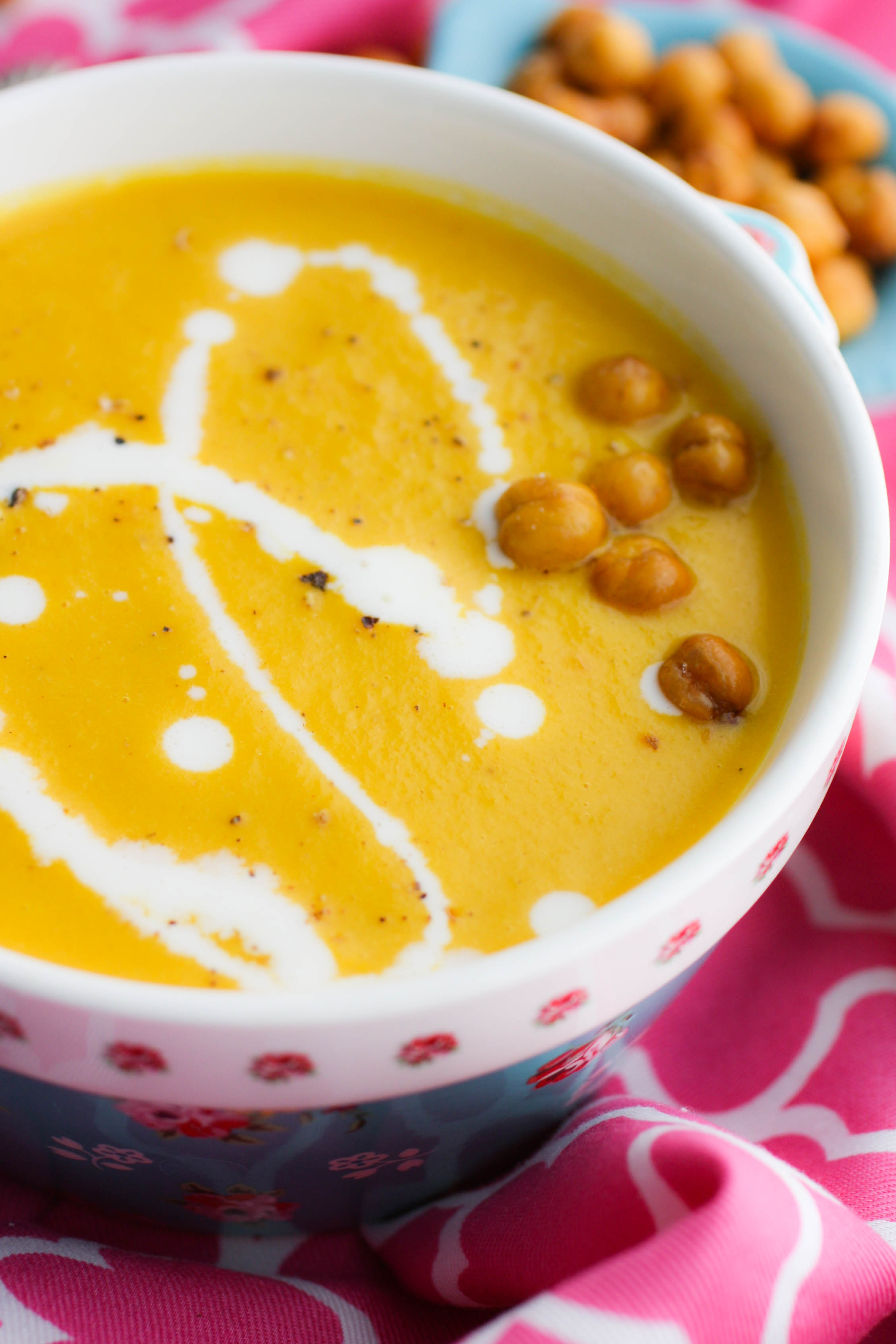Creamy Carrot Soup for One is ideal to serve on a cold day!