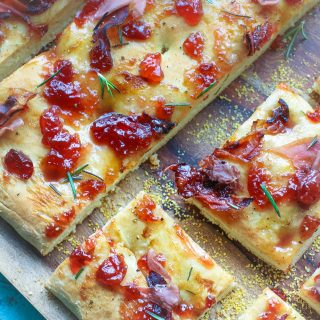 Cherry-Prosciutto Focaccia is a delight for any meal and it's easy to make, too!