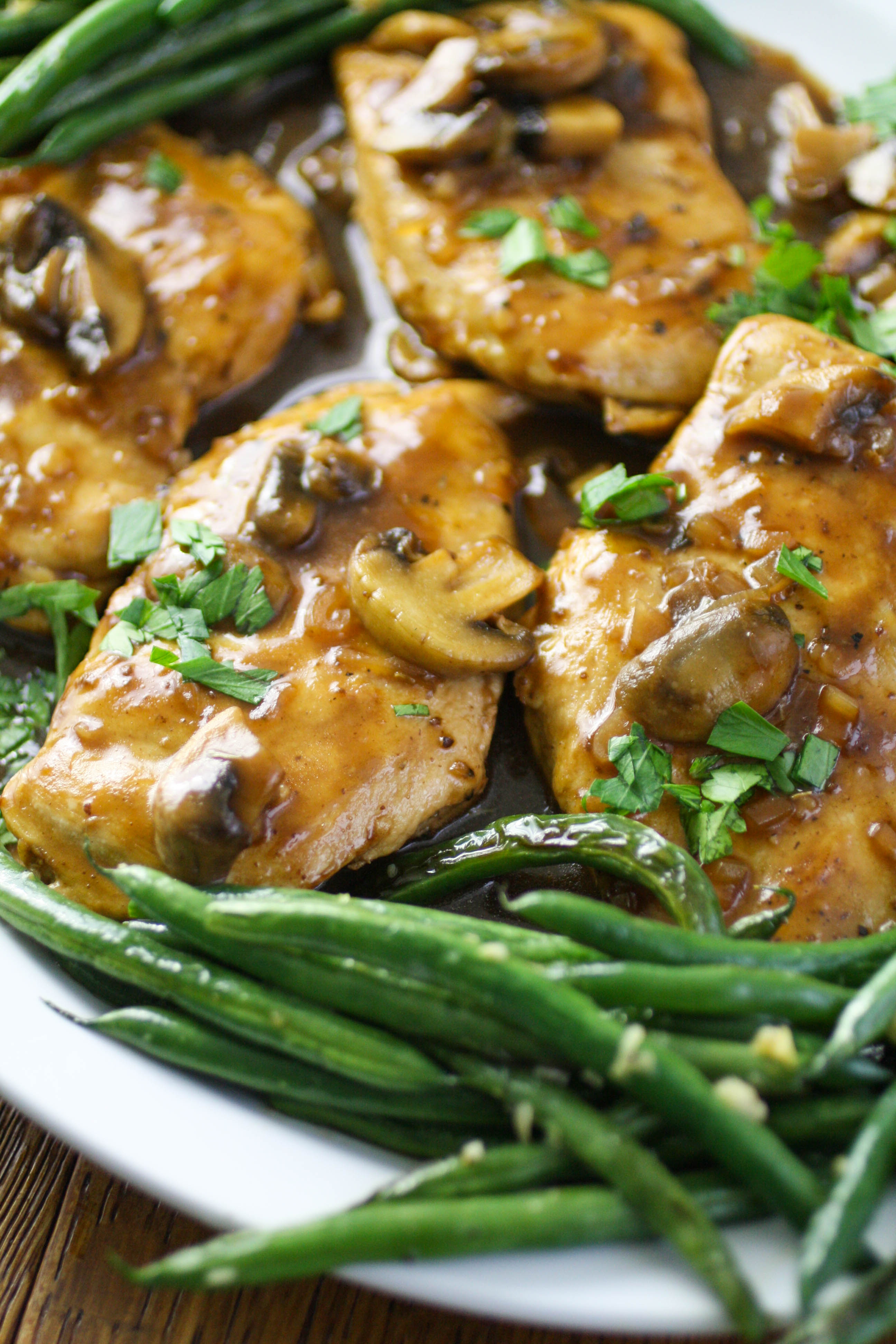 Chicken Madeira is a meal to reach for! You'll love chicken Madeira for it's flavor!