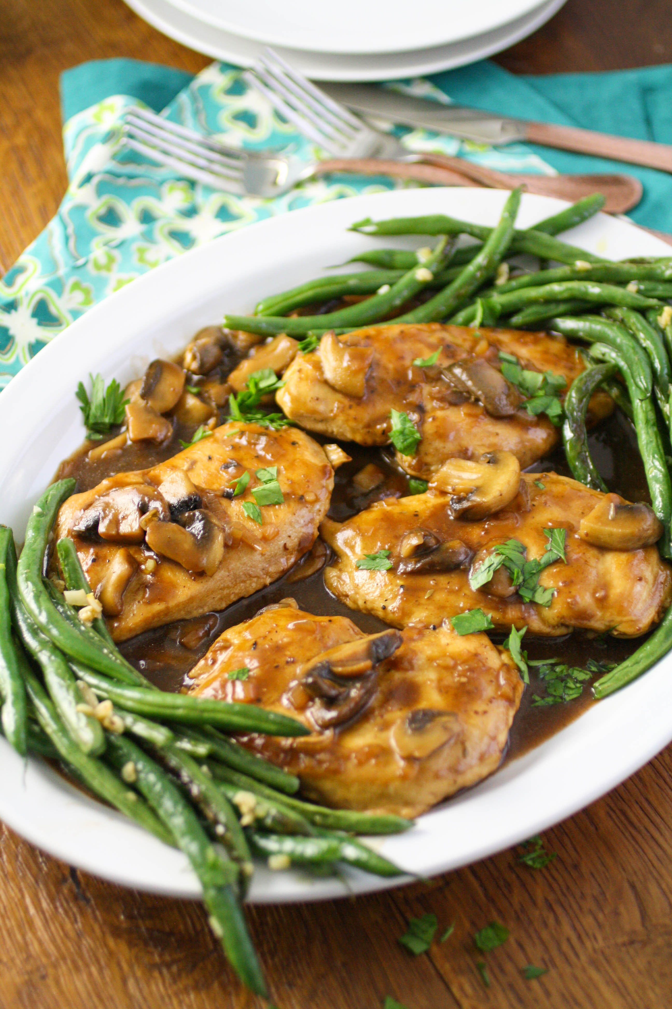 Chicken Madeira is a lovely dish perfect for any meal. Chicken Madeira is great for a special occasion when you want a rich and filling dish.