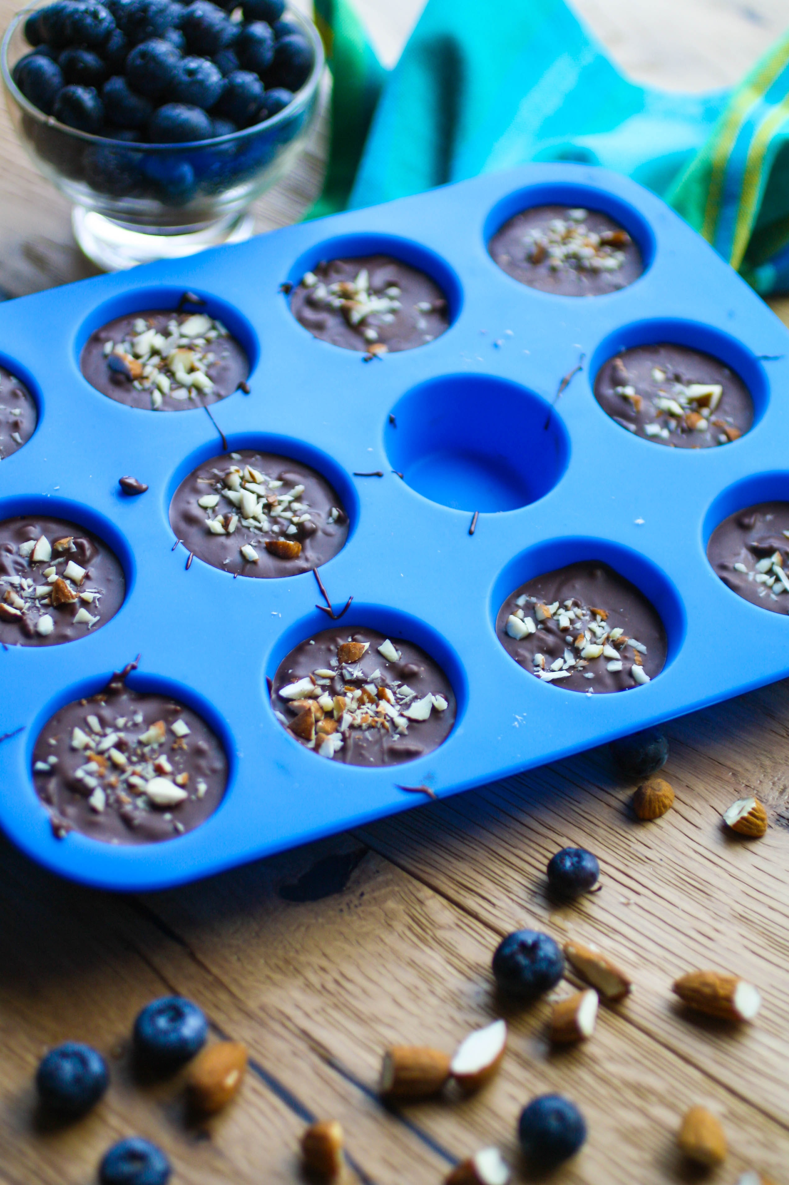 Chocolate Almond Blueberry Bites are a fabulous and easy-to-make treats! This candy is a tasty treat!