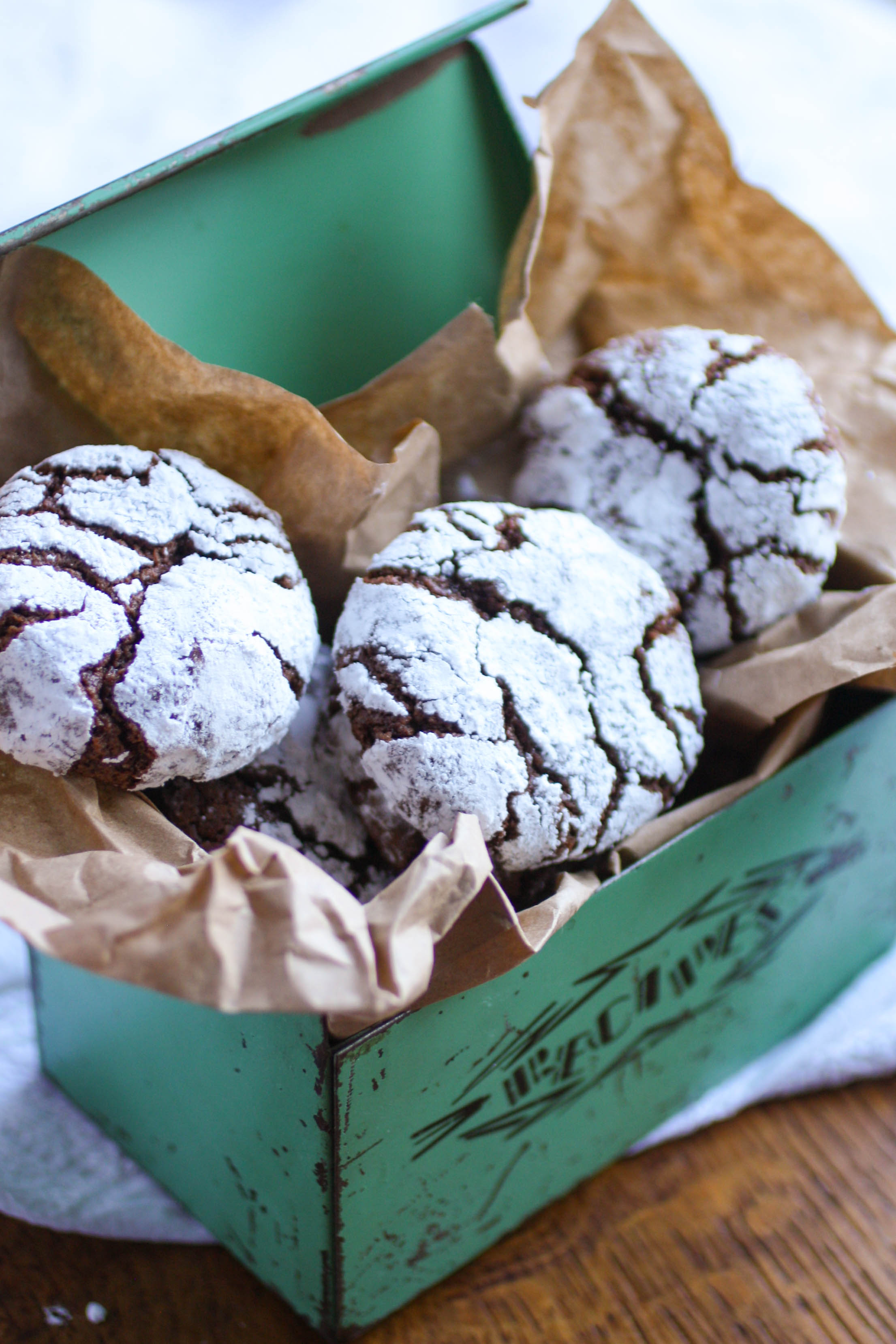 Chocolate-Chili Crinkle Cookies are a fun and rich treat. Serve these cookies anytime for a delightful treat!