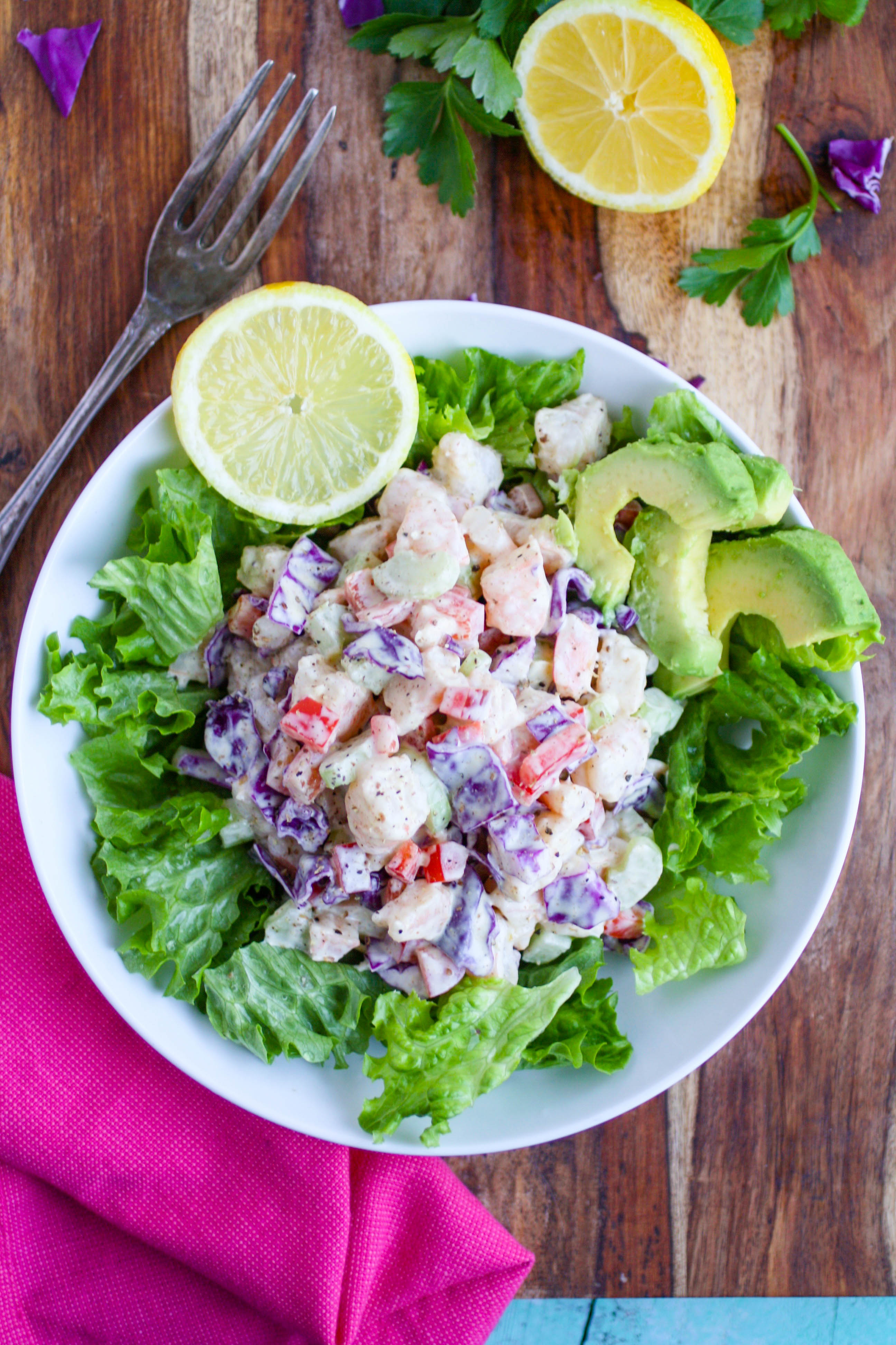 Chopped Shrimp Remoulade Salad is one you'll want to dig into! Chopped Shrimp Remoulade Salad is zesty and tasty -- you'll love it!