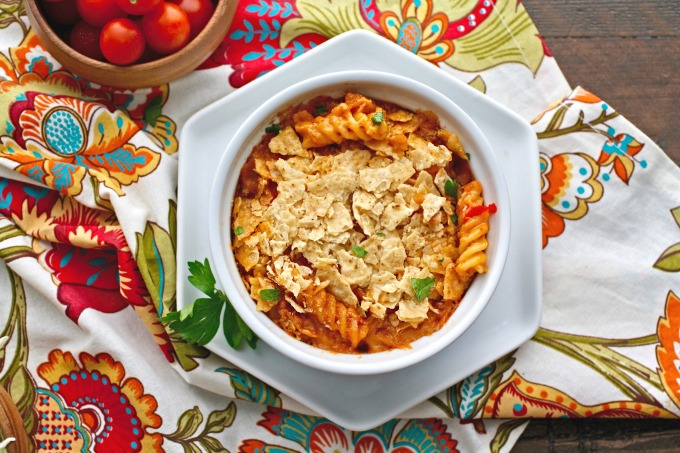 Spicy, creamy and comforting, you'll love Chorizo Mac and Cheese!