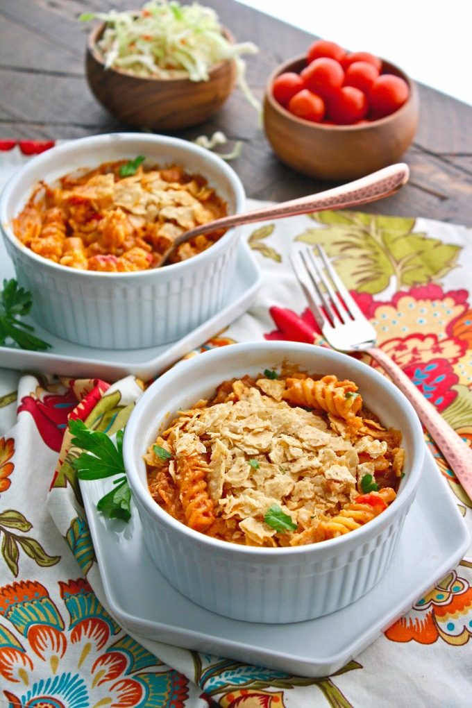 Serve Chorizo Mac and Cheese as a side or as a main dish -- you'll love the fab flavors!