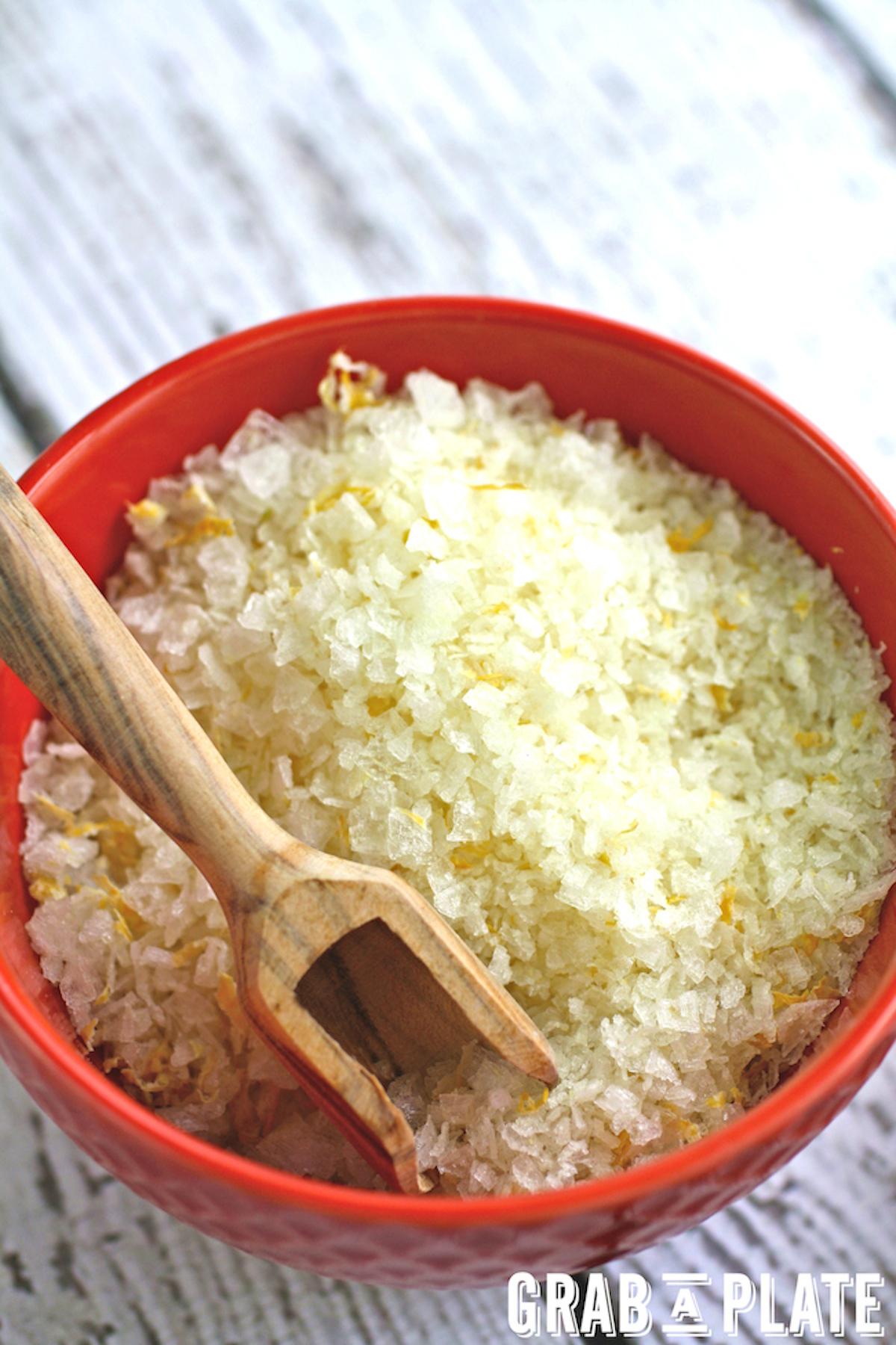 A bowl of tasty Citrus Salt