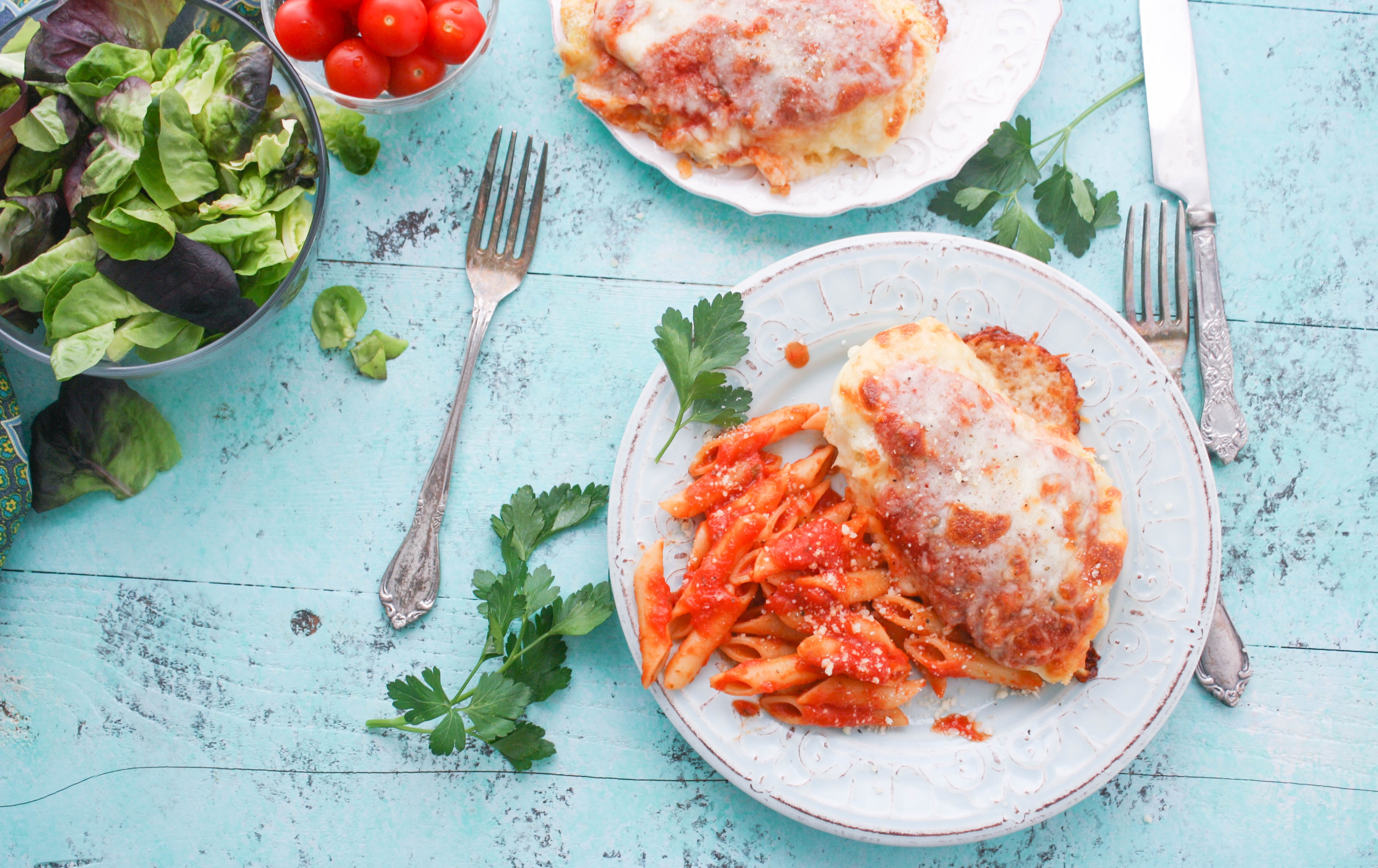 Classic Baked Chicken Parmesan is a great dish for any meal. Enjoy Classic Baked Chicken Parmesan any night of the week.