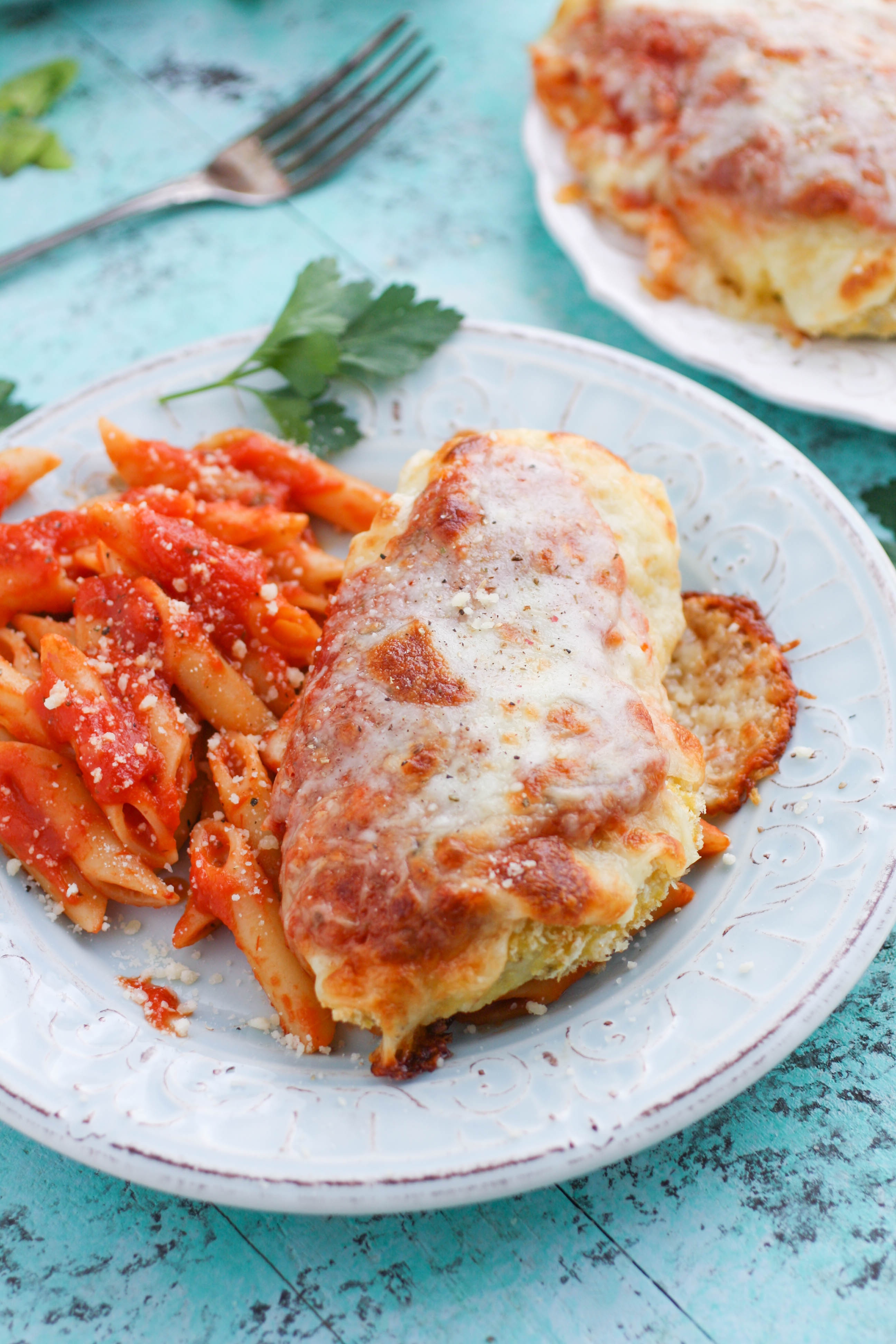 Classic Baked Chicken Parmesan is a favorite you'll love to serve. Classic Baked Chicken Parmesan is easy to make at home and will become a favorite, for sure!