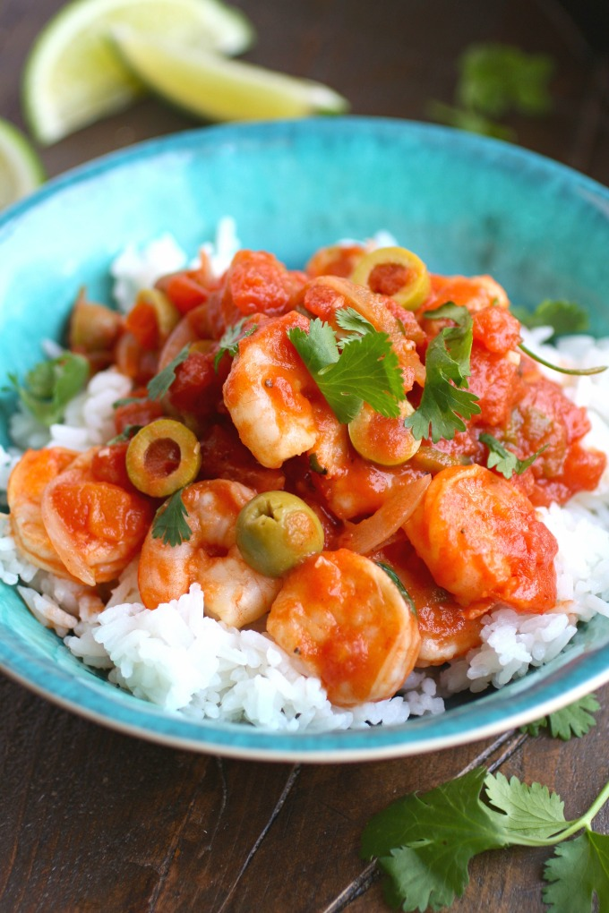 You can't deny the deliciousness of Shrimp Veracruz!