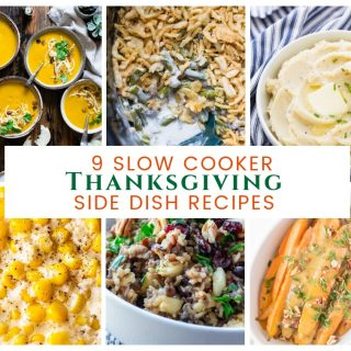9 Slow Cooker Thanksgiving Side Dish Recipes will help with your Thanksgiving meal! 9 Slow Cooker Thanksgiving Side Dish Recipes are space-saving ideas for prepping dinner!