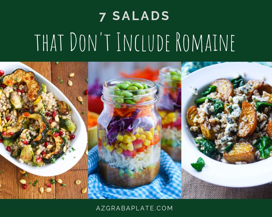 Enjoy these 7 Salads That Don't Include Romaine. These 7 Salads That Don't Include Romaine will fill you up, for sure!