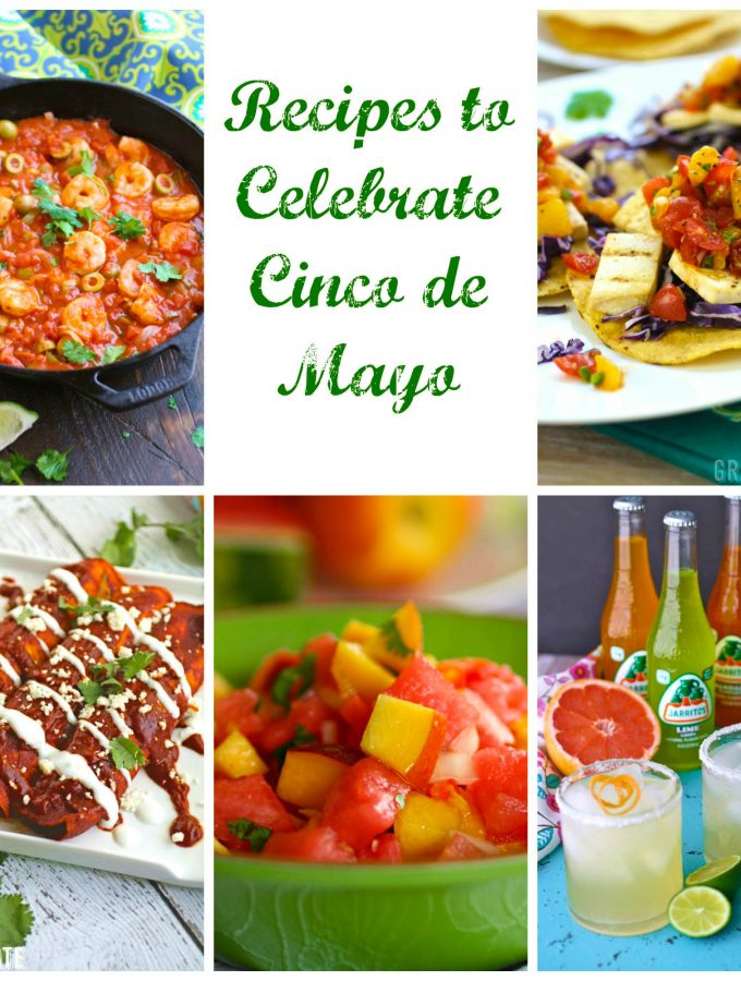 Recipes to celebrate Cinco de Mayo are easy to come by. Look no further for fab food to celebrate!