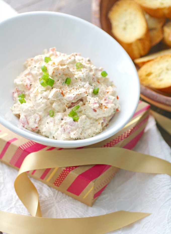 Perfect for parties or potlucks, Creamy Artichoke and Roasted Red Pepper Spread is what you need for a fun time!