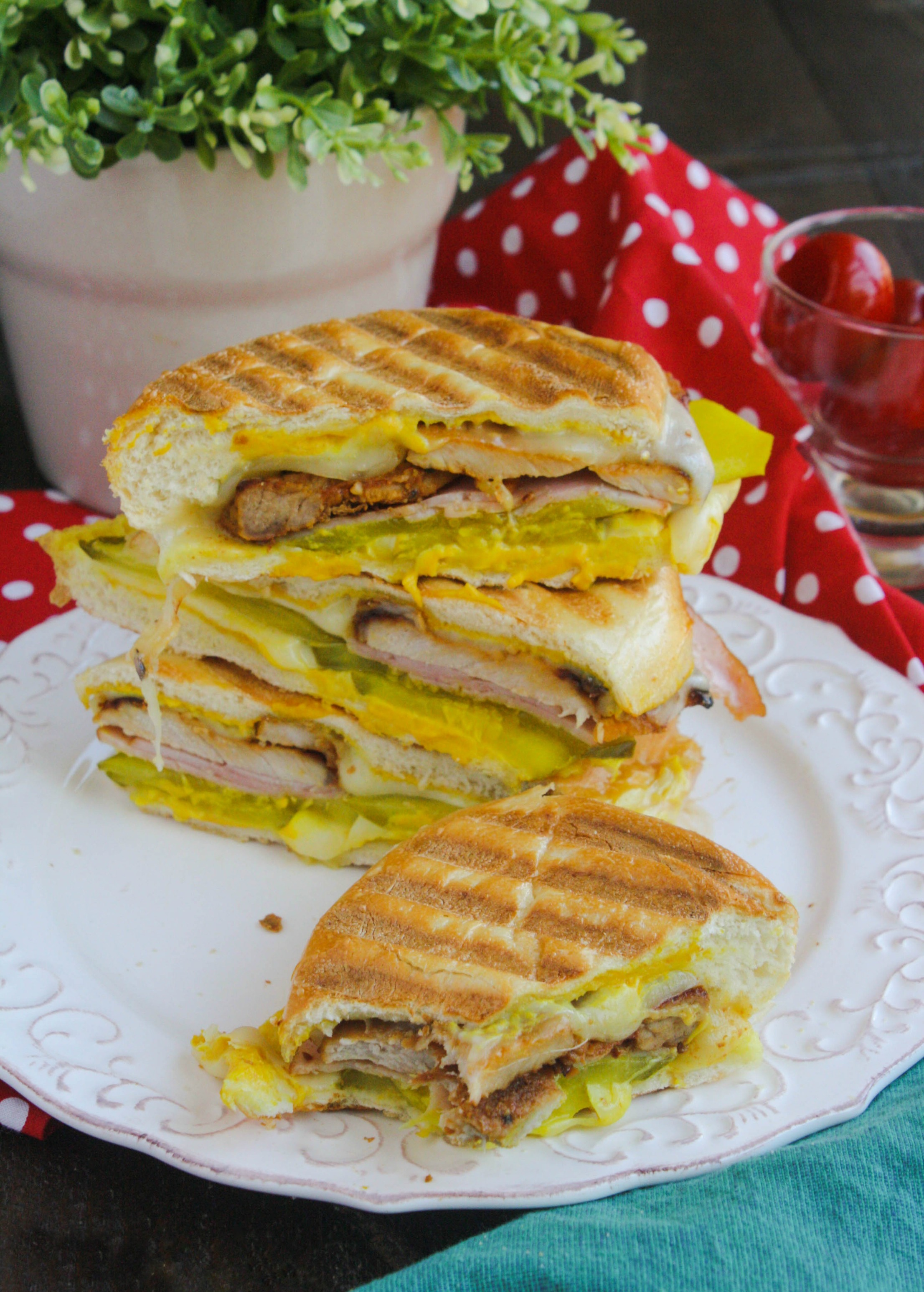 A Cuban sandwich is thick, hearty, and big on flavor. You'll love it!