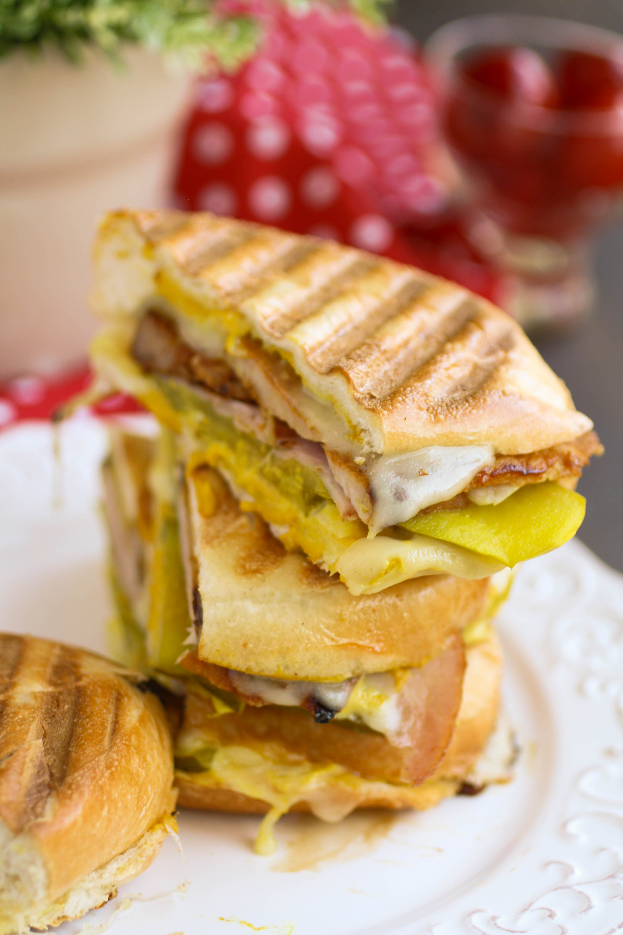 A Cuban sandwich is thick, hearty, and big on flavor. I hope you try this sandwich!