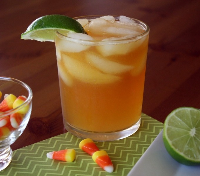 Dark & Stormy Cocktails are a treat any time of year!