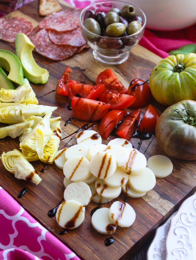 Easy Antipasto comes together quickly. It's perfect as a starter or as part of a light meal.
