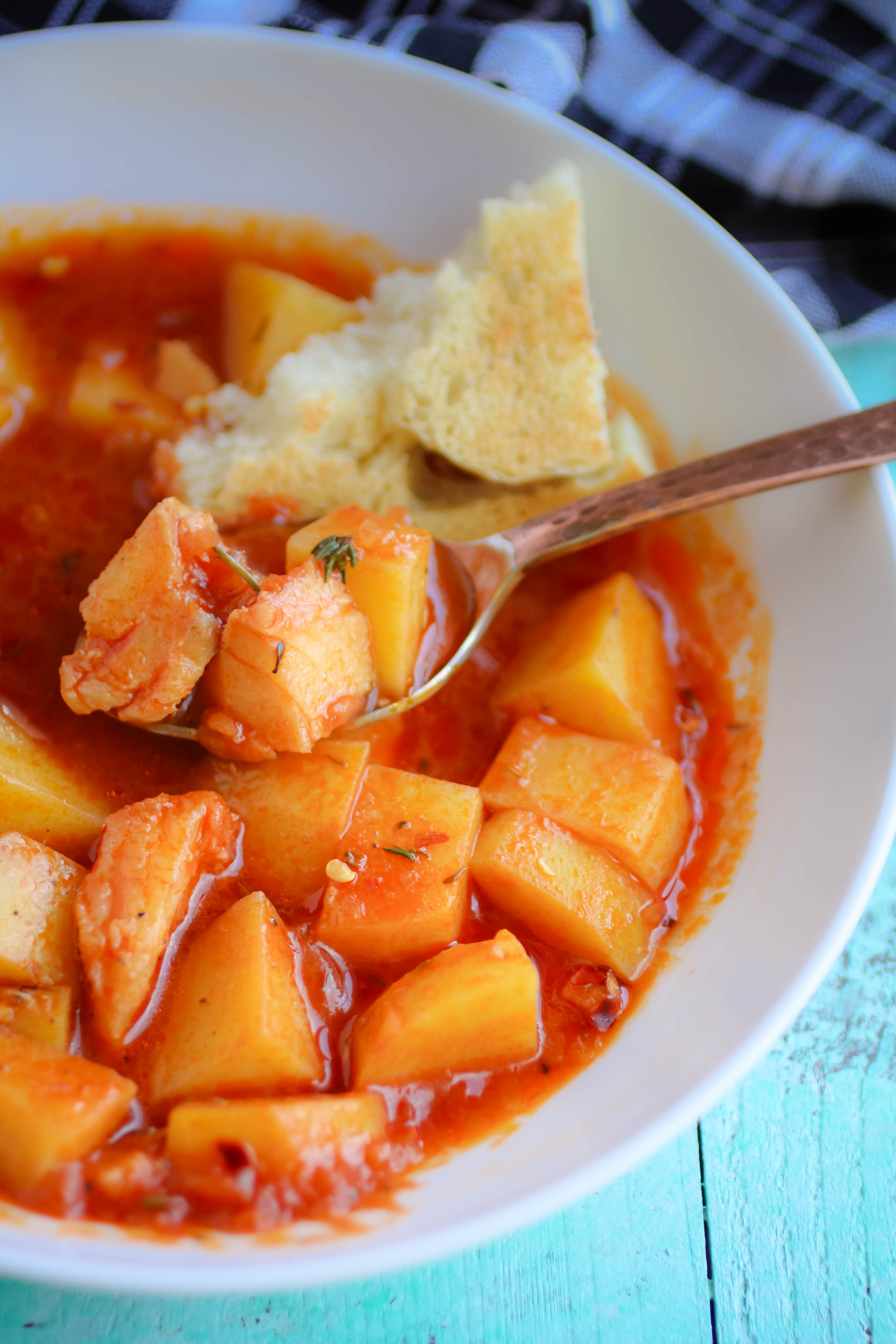 Easy Italian Fish Stew is a simple and satisfying dish. Easy Italian Fish Stew is so easy to make, and so big on flavor!