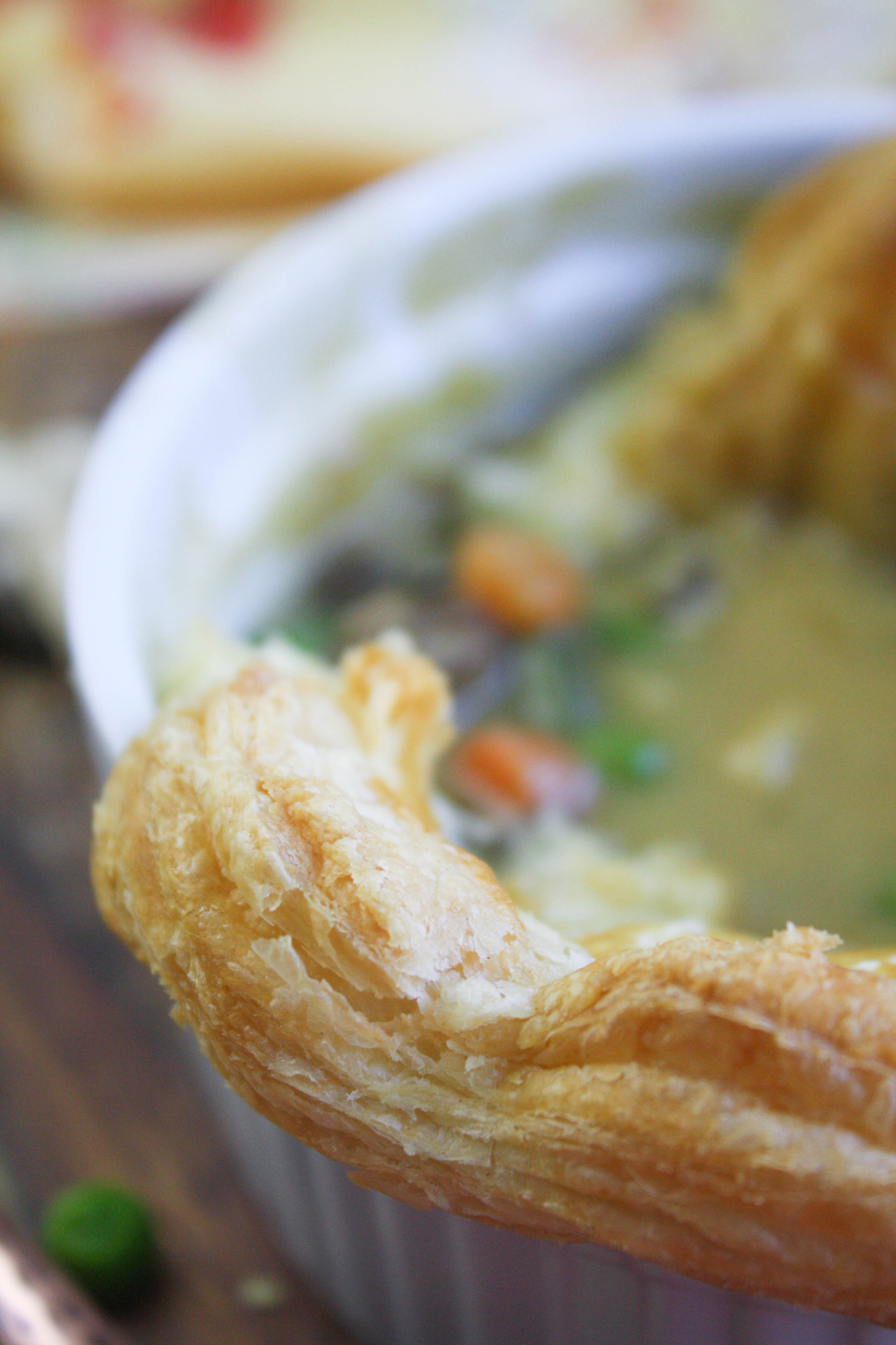 Easy Puffy Pastry Vegetable Pot Pies are dreamy and delicious. These puff pastry vegetarian pot pies make a great meal that's easy to make.