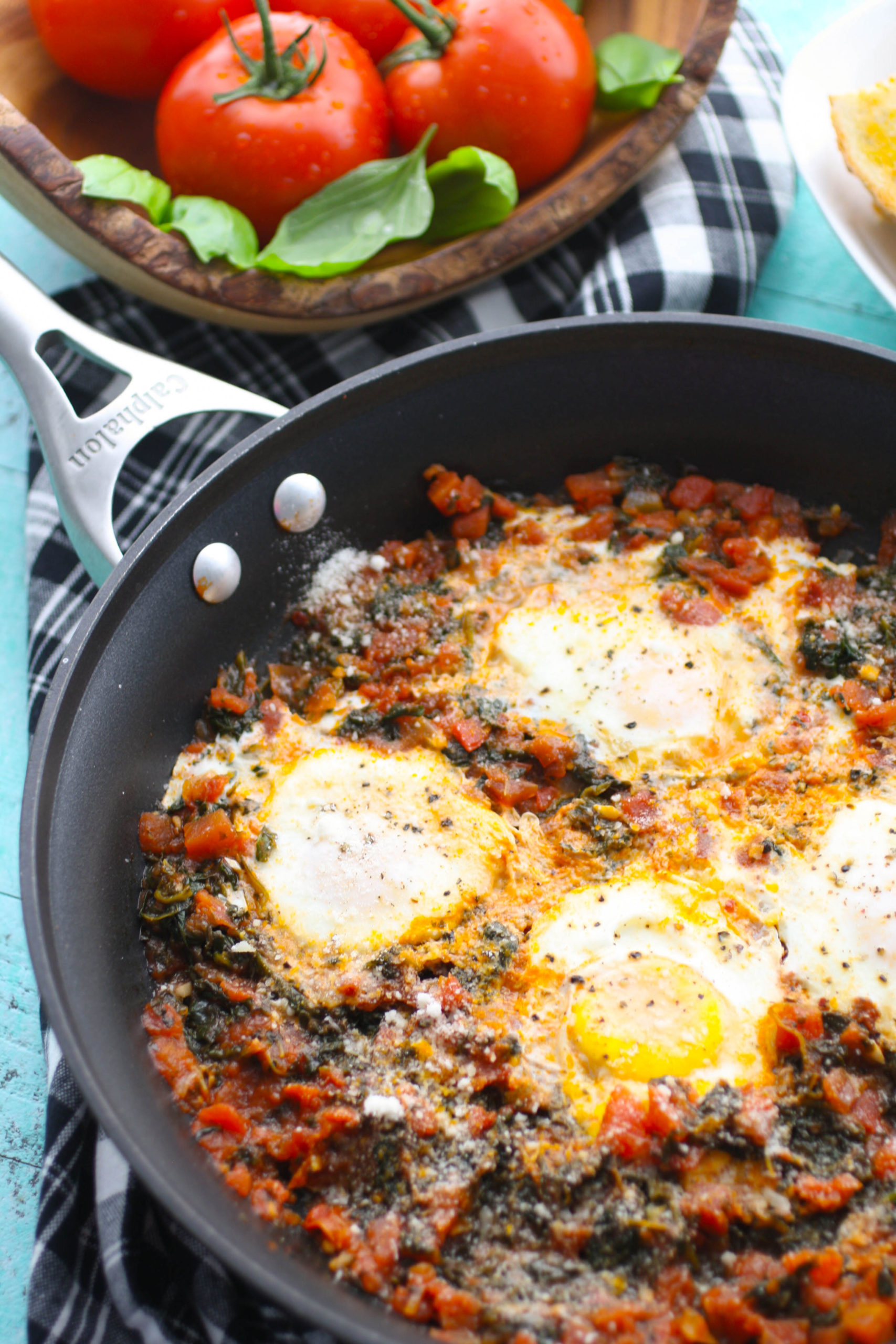 Enjoy Eggs in Purgatory for your next meal.