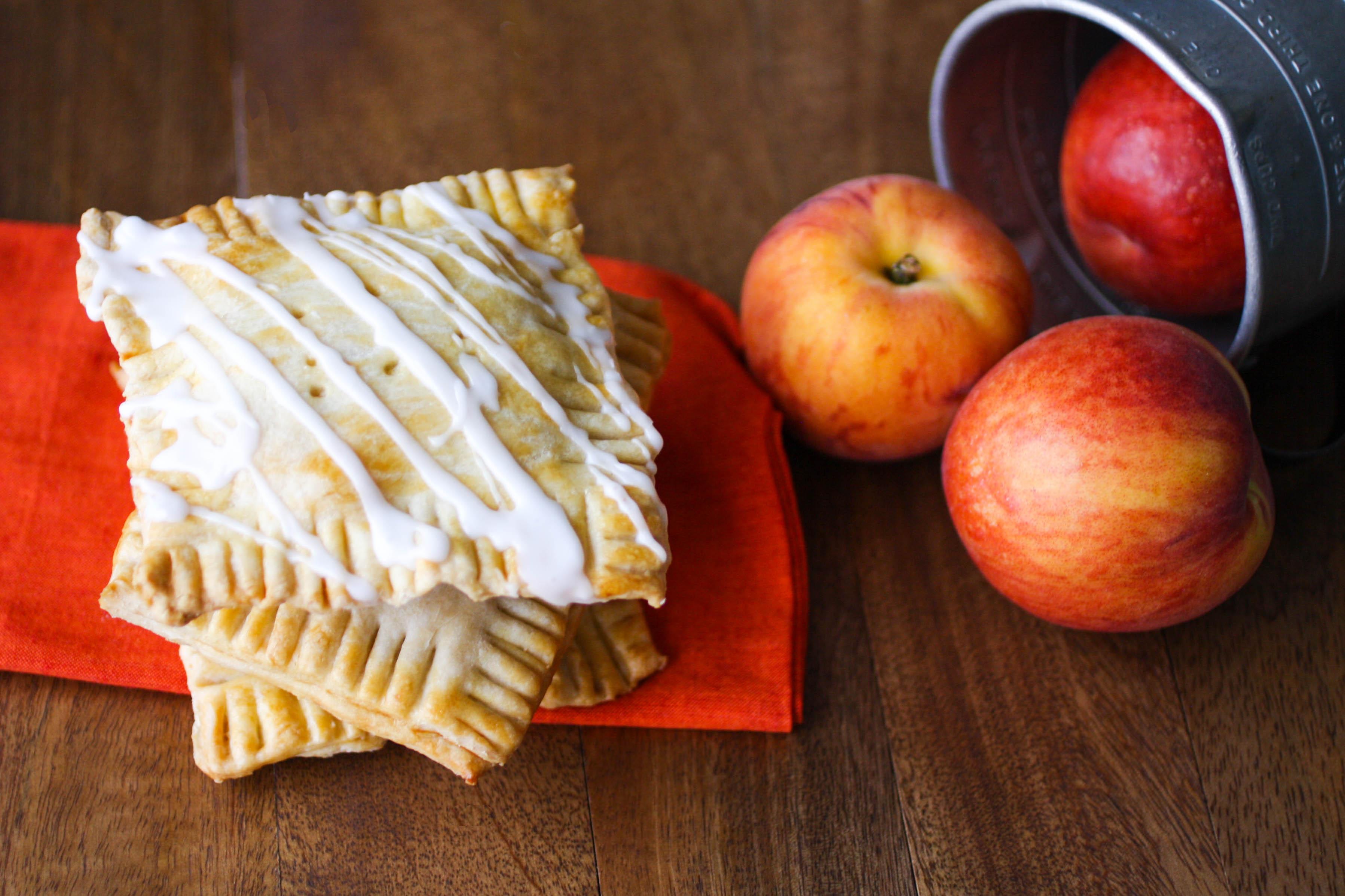 "Fresh Peach Pie ""Pop Tarts"" are a wonderful treat. All those fresh peaches are amazing!"