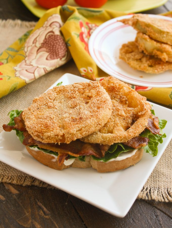 Fried Green Tomato BLT Sandwiches