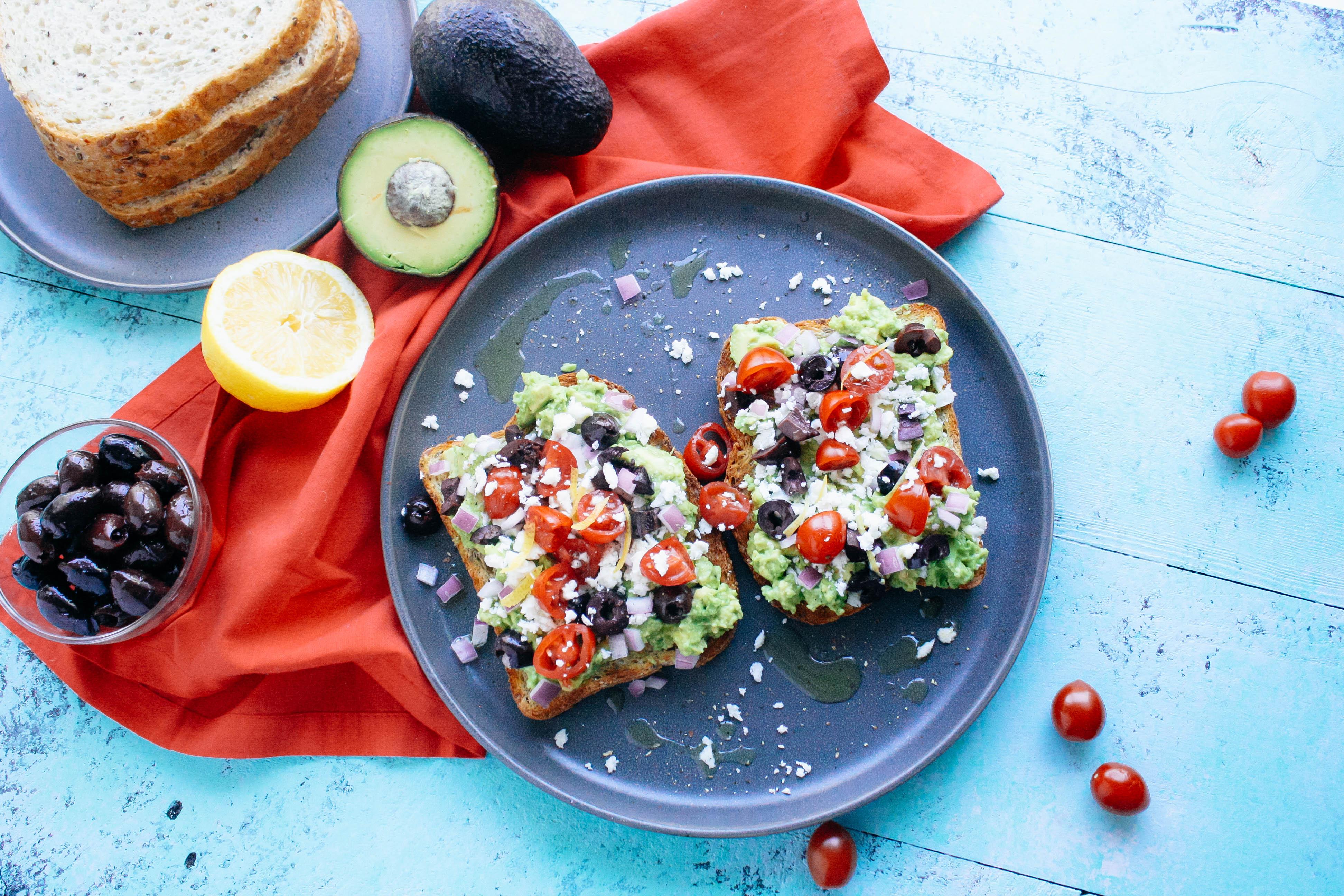 Everyone will love Greek-Style Avocado Toast! Greek-Style Avocado Toast is a fantastic sandwich!