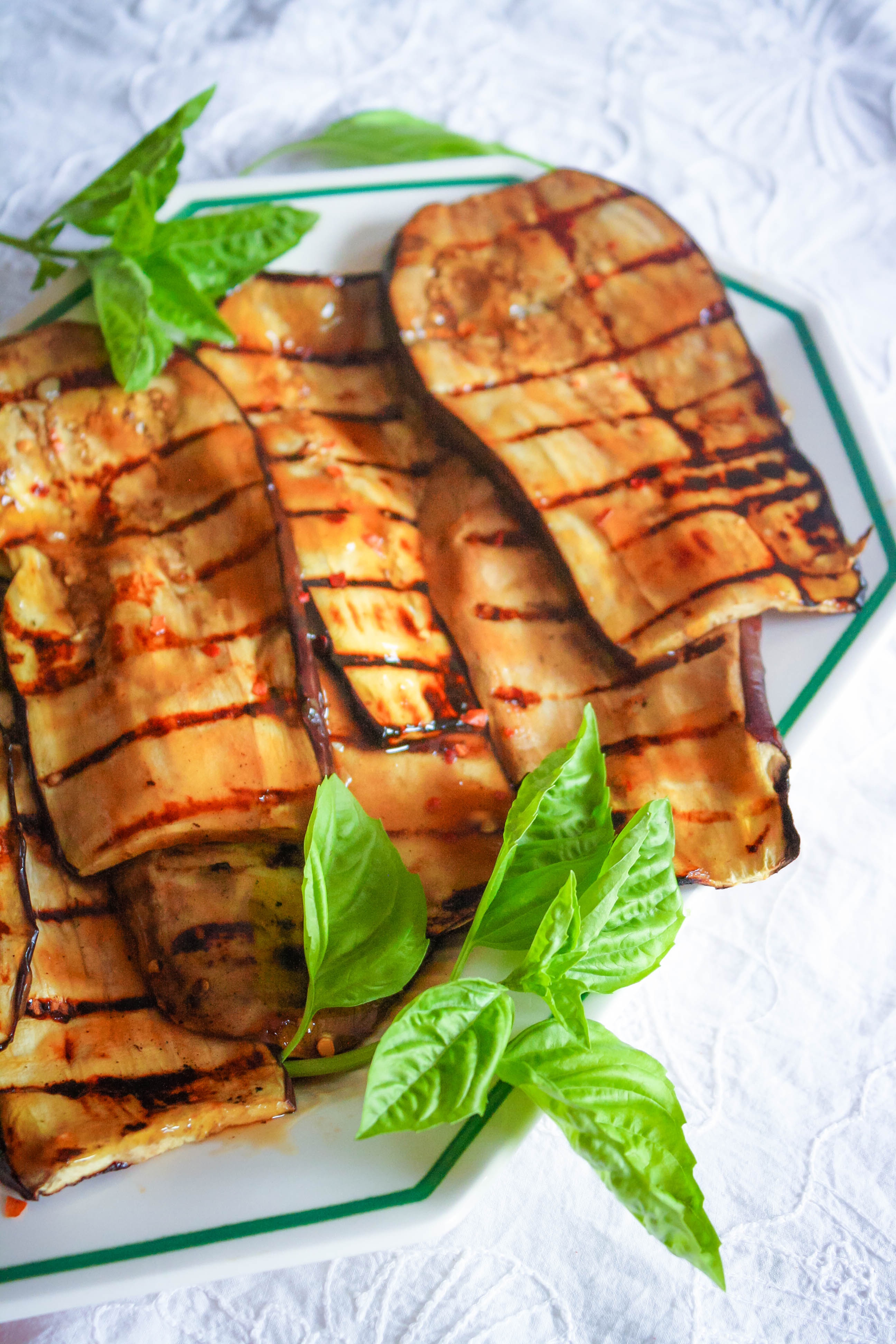Grilled Eggplant with Teriyaki is a delicious summer dish. Grilled Eggplant with Teriyaki is full of flavor for a fab summer meal.