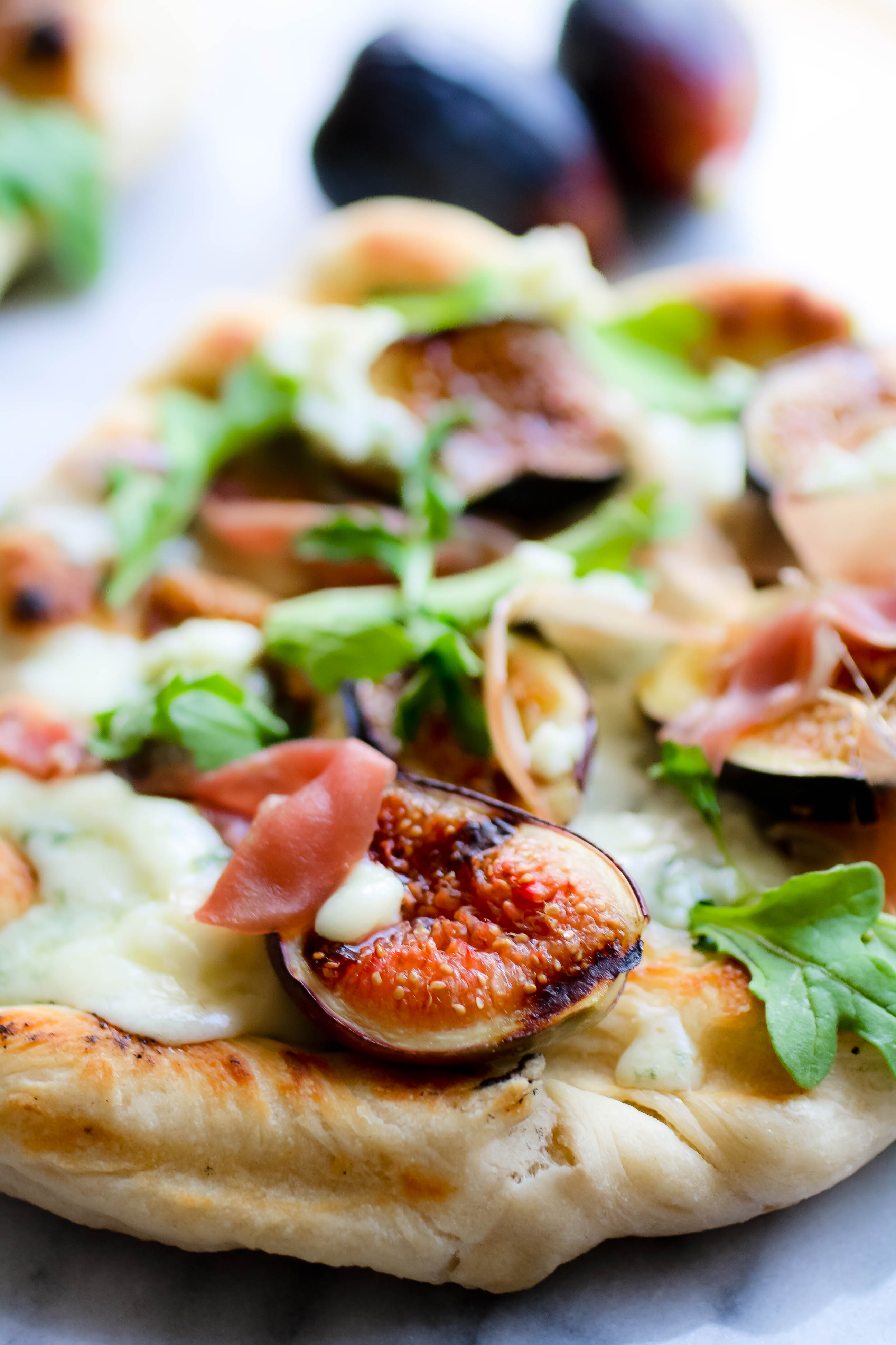 Grilled Pizza with Fig, Prosciutto, and Blue Cheese is a great grilled pizza. You'll enjoy Grilled Pizza with Fig, Prosciutto, and Blue Cheese this season.