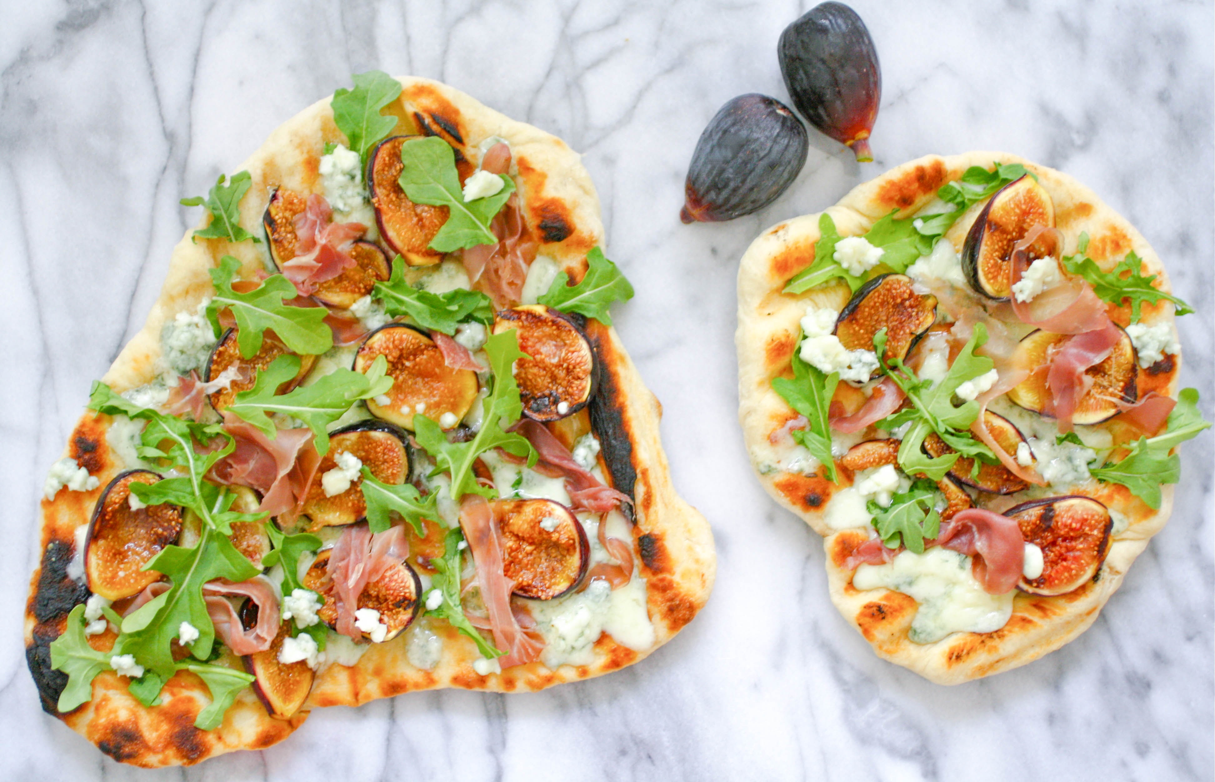 Grilled Pizza with Fig, Prosciutto, and Blue Cheese is such a tasty pizza! You'll love how this Grilled Pizza with Fig, Prosciutto, and Blue Cheese turns out!