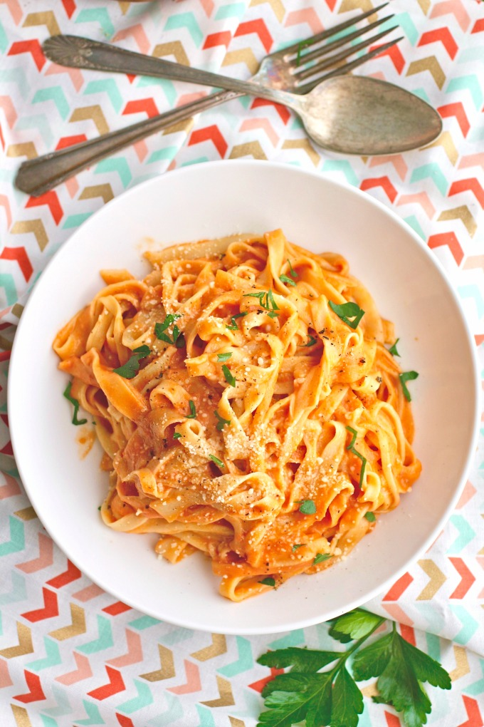 For a special meal, try your hand at Homemade Pasta (without a machine) with Vodka Sauce. it's a delight!