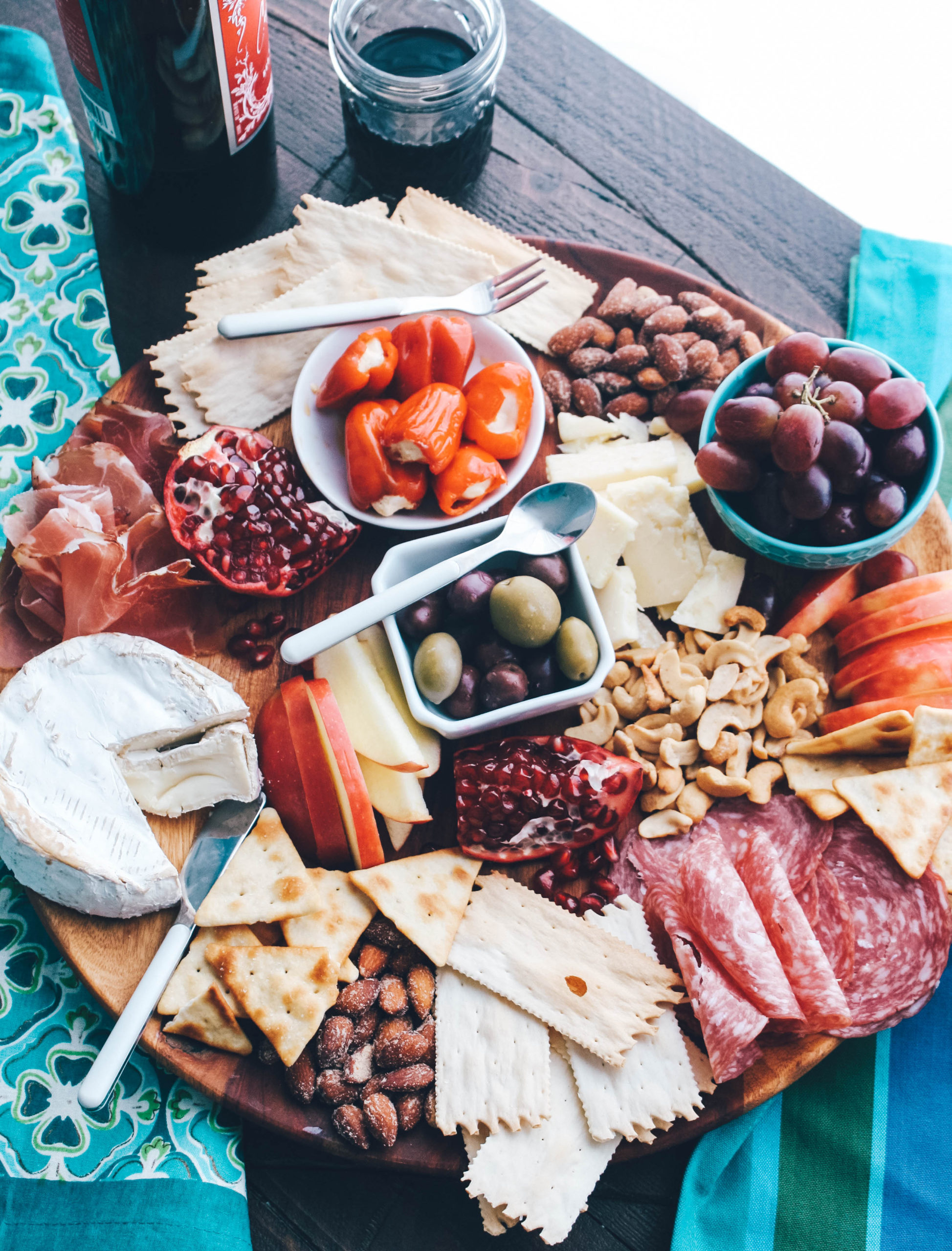 Let me show you how to make a fabulous charcuterie board!