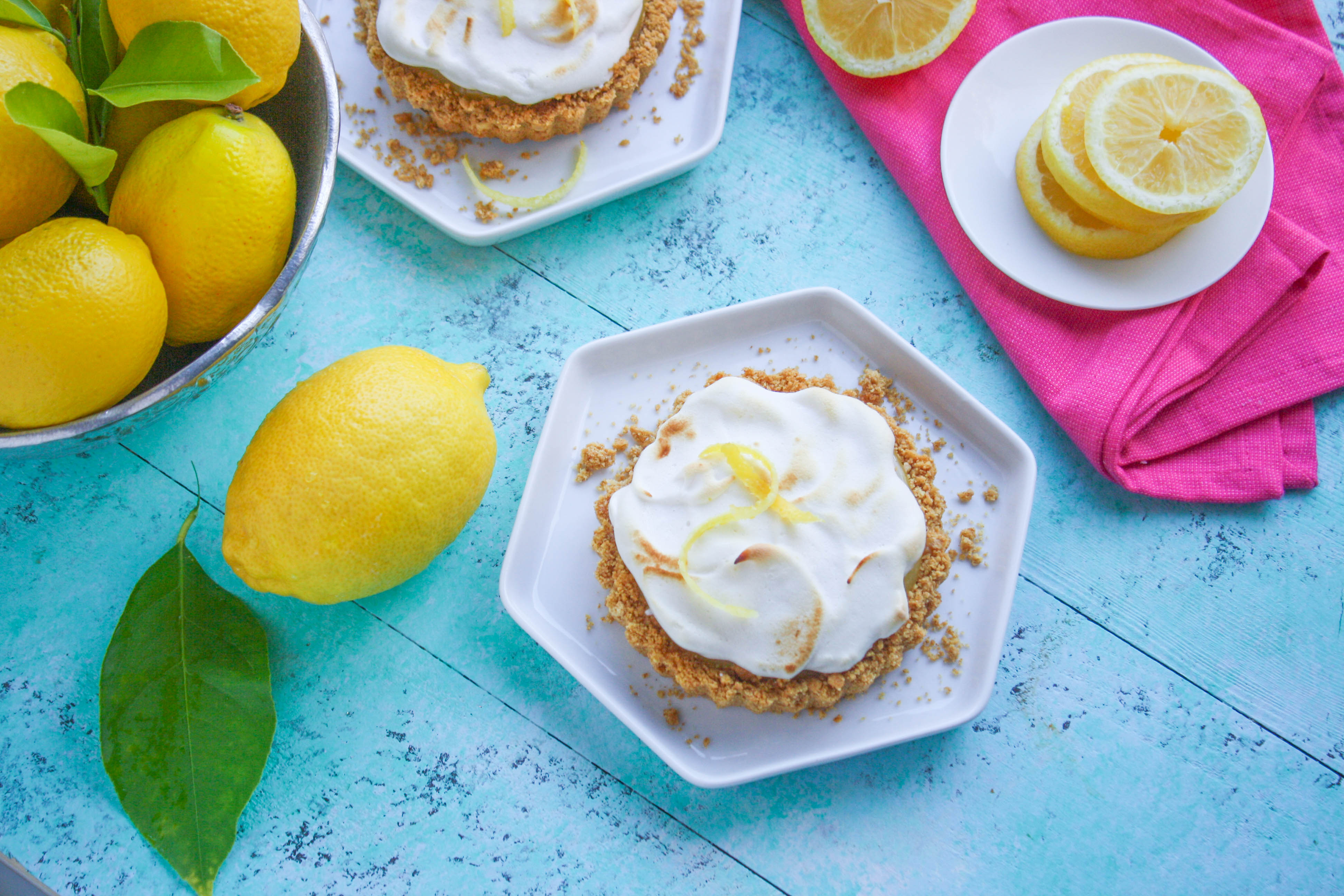 Lemon Meringue Tartlets are a bright and flavorful citrusy dessert. Lemon Meringue Tartlets are a fabulous citrus treat.