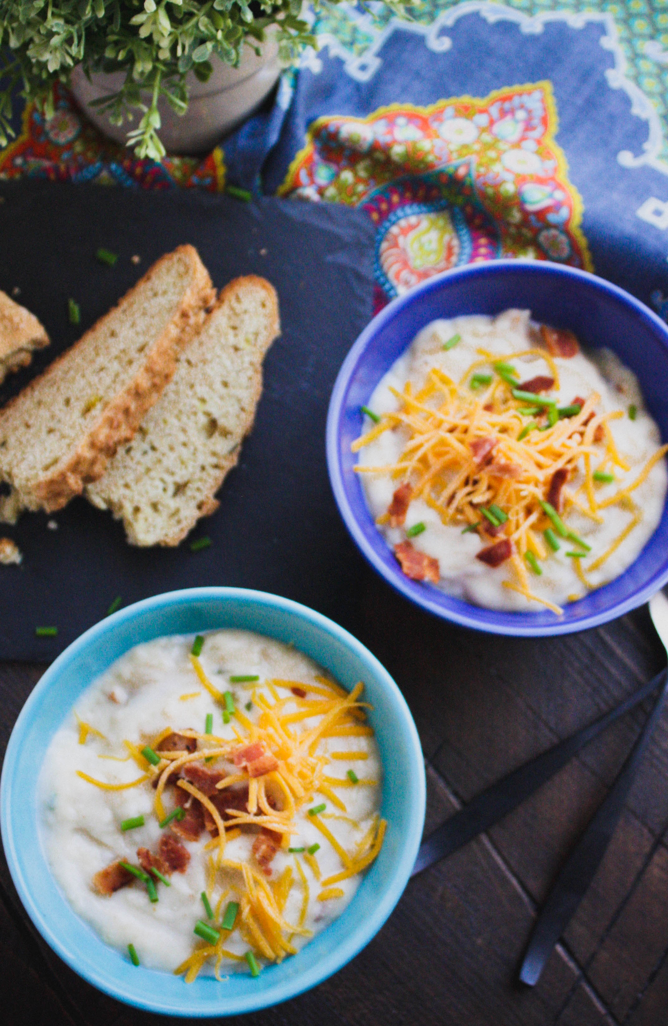 Make a batch of Loaded Baked Potato Soup on a chilly day. Loaded Baked Potato Soup is hearty and full of flavor!