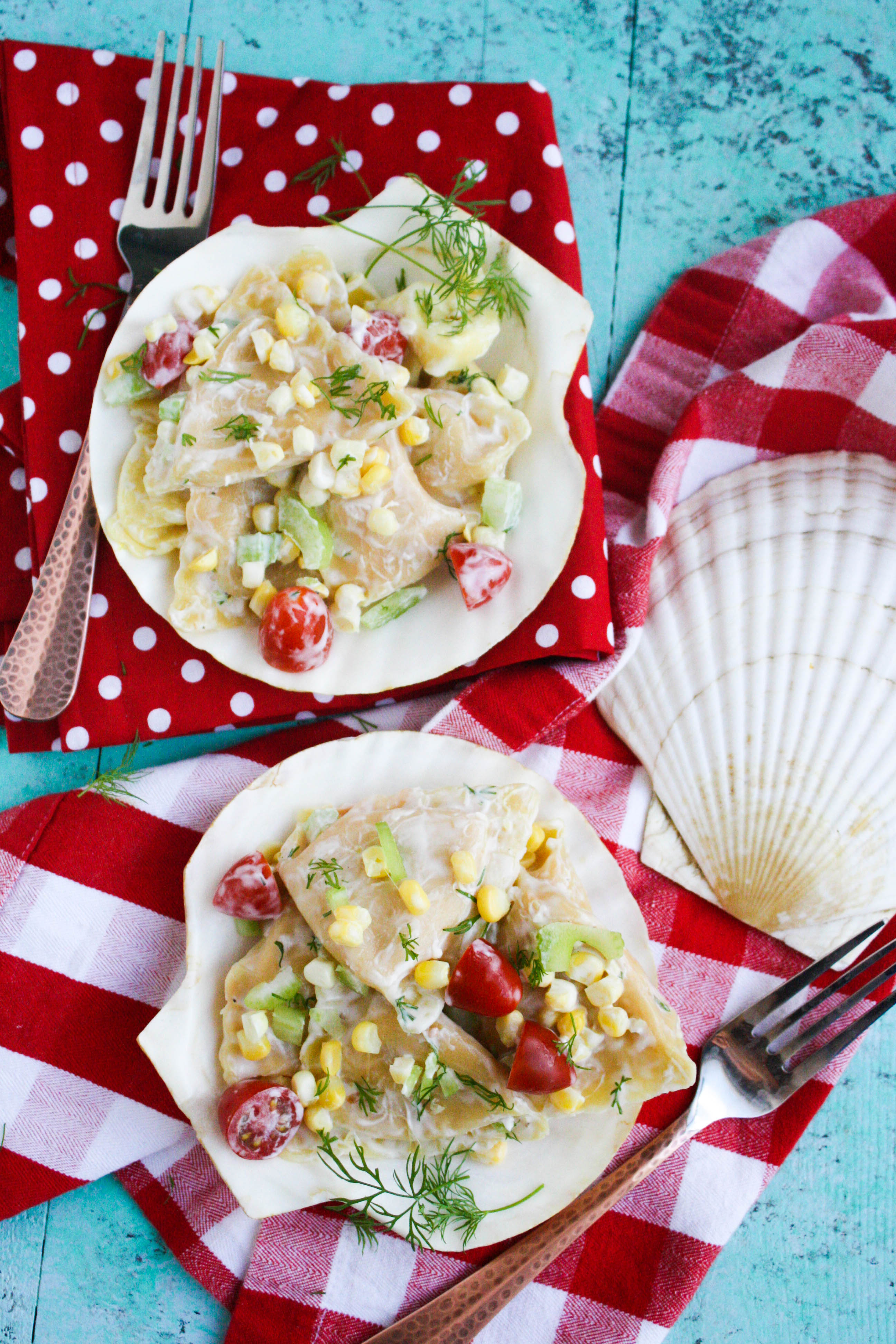 Lobster Ravioli Pasta Salad with Creamy Lemon Dressing is a lovely summer dish. Lobster Ravioli Pasta Salad with Creamy Lemon Dressing is a nice dish for a summer gathering.