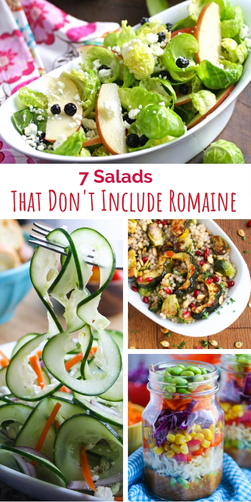 7 Salads That Don't Include Romaine offer options for every night of the week. Enjoy these salad options: 7 Salads That Don't Include Romaine.