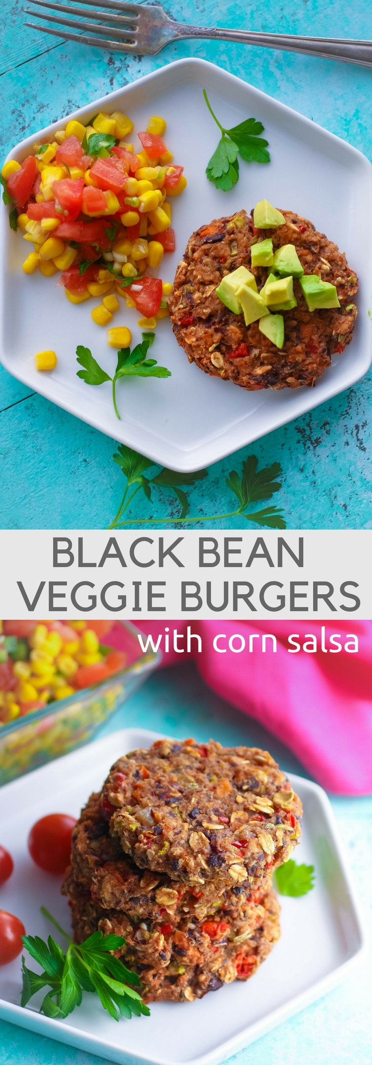 Whether you want a meatless meal or not, Black Bean Veggie Burgers with Corn Salsa are delicious! You'll enjoy Black Bean Veggie Burgers with Corn Salsa.