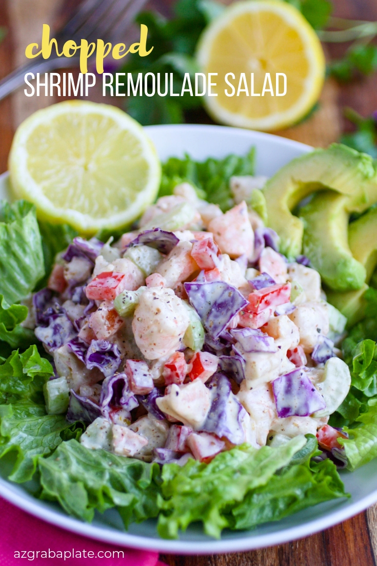 Chopped Shrimp Remoulade Salad is filling and flavorful. Chopped Shrimp Remoulade Salad is a delicious dish for any season.