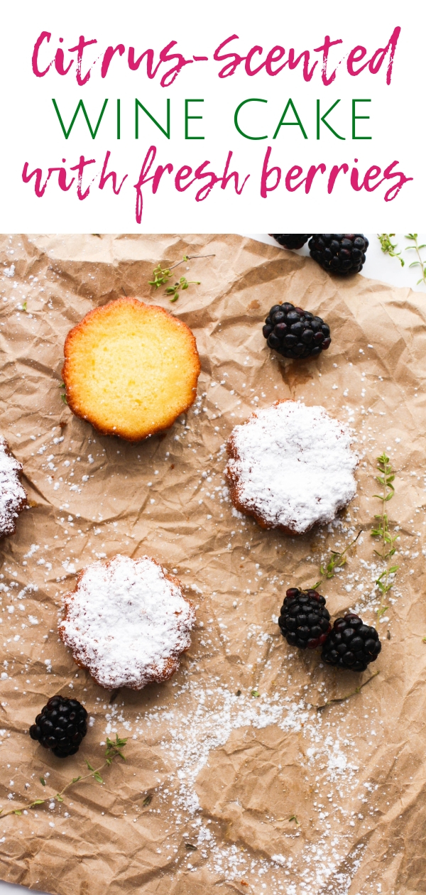 Citrus-Scented Wine Cake with Fresh Berries is a delightful treat for any occasion. You'll really enjoy Citrus-Scented Wine Cake with Fresh Berries as a special treat.