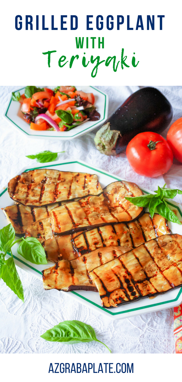 Grilled Eggplant with Teriyaki is a fun and flavorful summer dish. Grilled Eggplant with Teriyaki is perfect for grilling season!