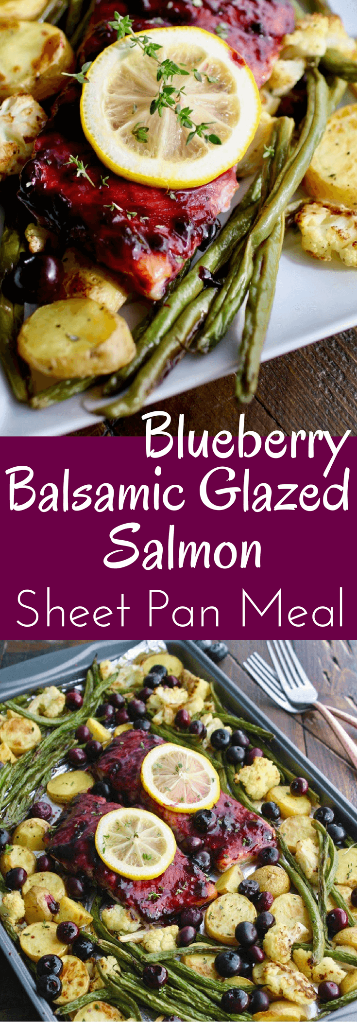 You'll really enjoy this delightful, easy-to-make dish: Sheet Pan Blueberry-Balsamic Glazed Salmon