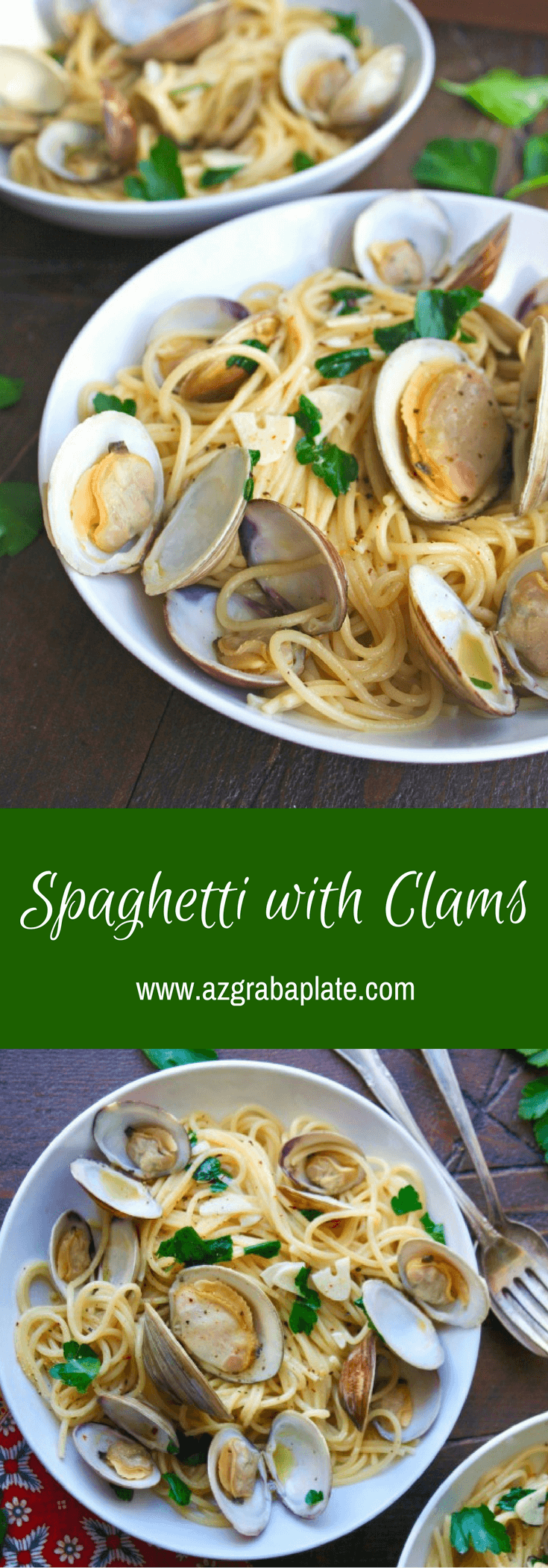 Spaghetti alle Vongole (Spaghetti with Clams) is a fabulous meal for a celebration!