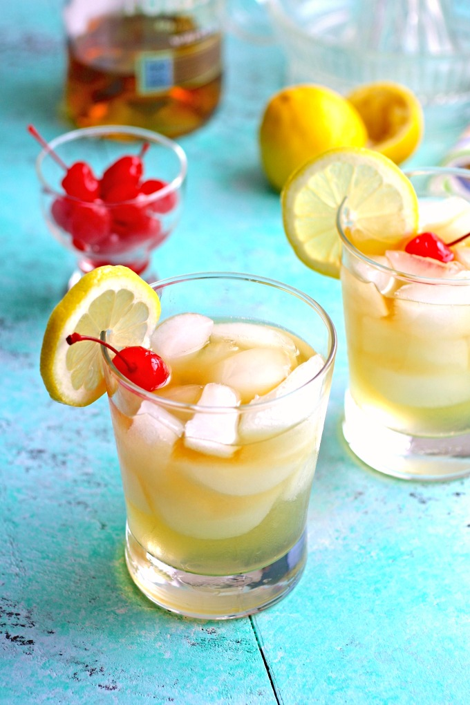 Try a classic cocktail that is amazing: The Jade Bar Whiskey Sour Cocktail.