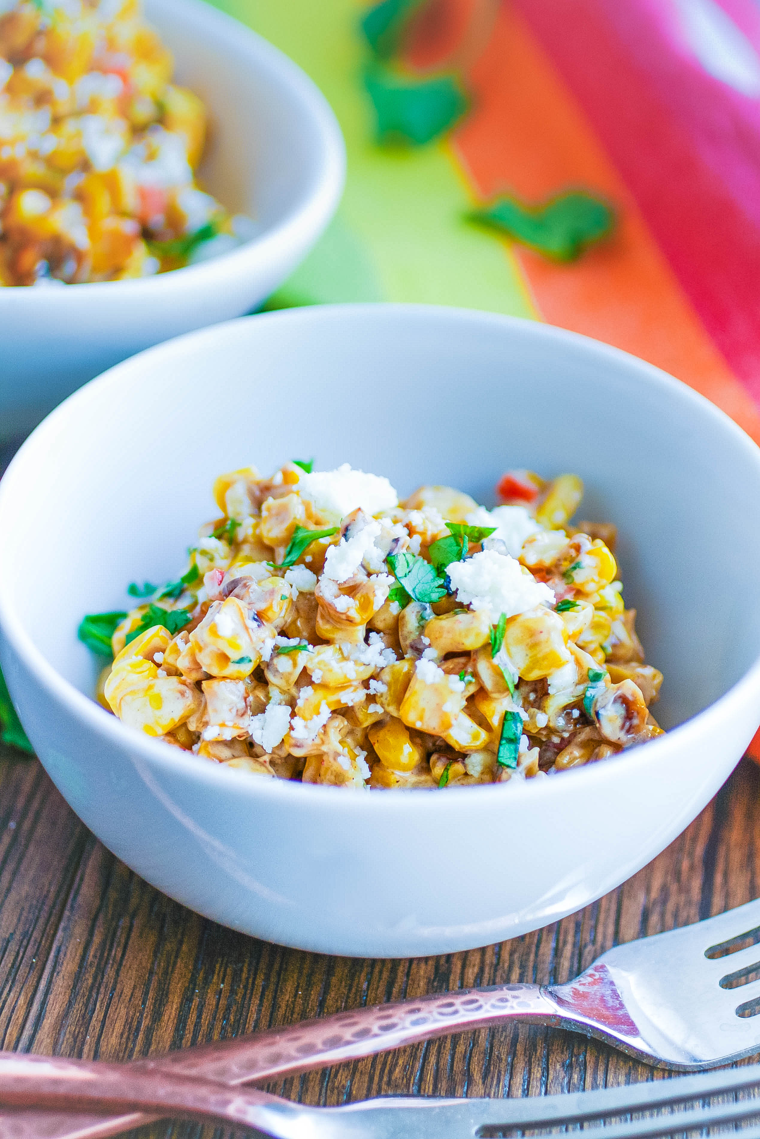 Mexican Street Corn Salad is the ideal side dish for the season. Everyone will enjoy Mexican Street Corn Salad this summer!