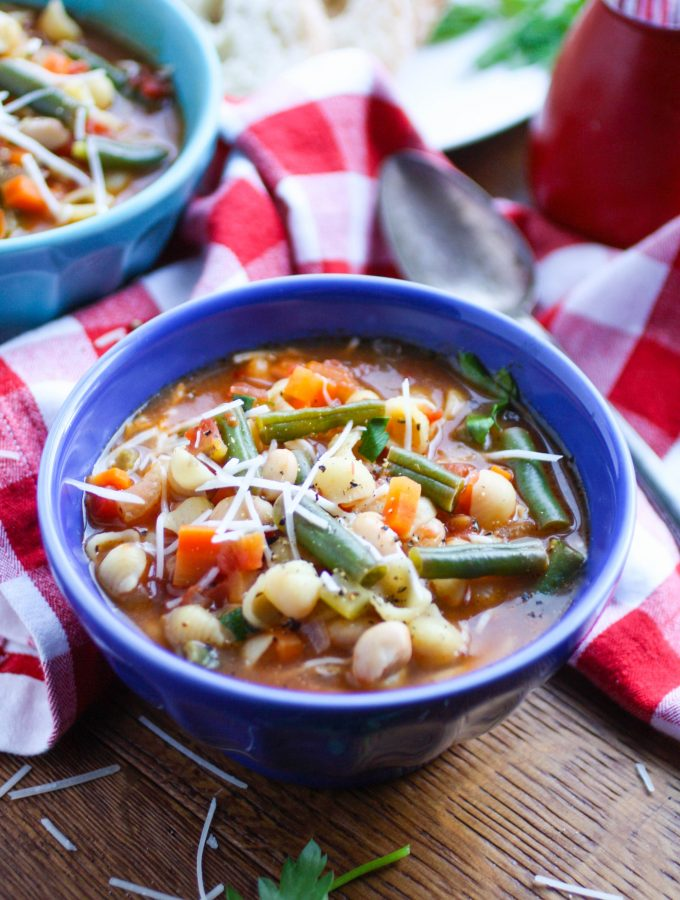Minestrone Soup is a delightful dish filled with veggies and flavor. Minestrone soup is such an easy dish to make. You'll love it!