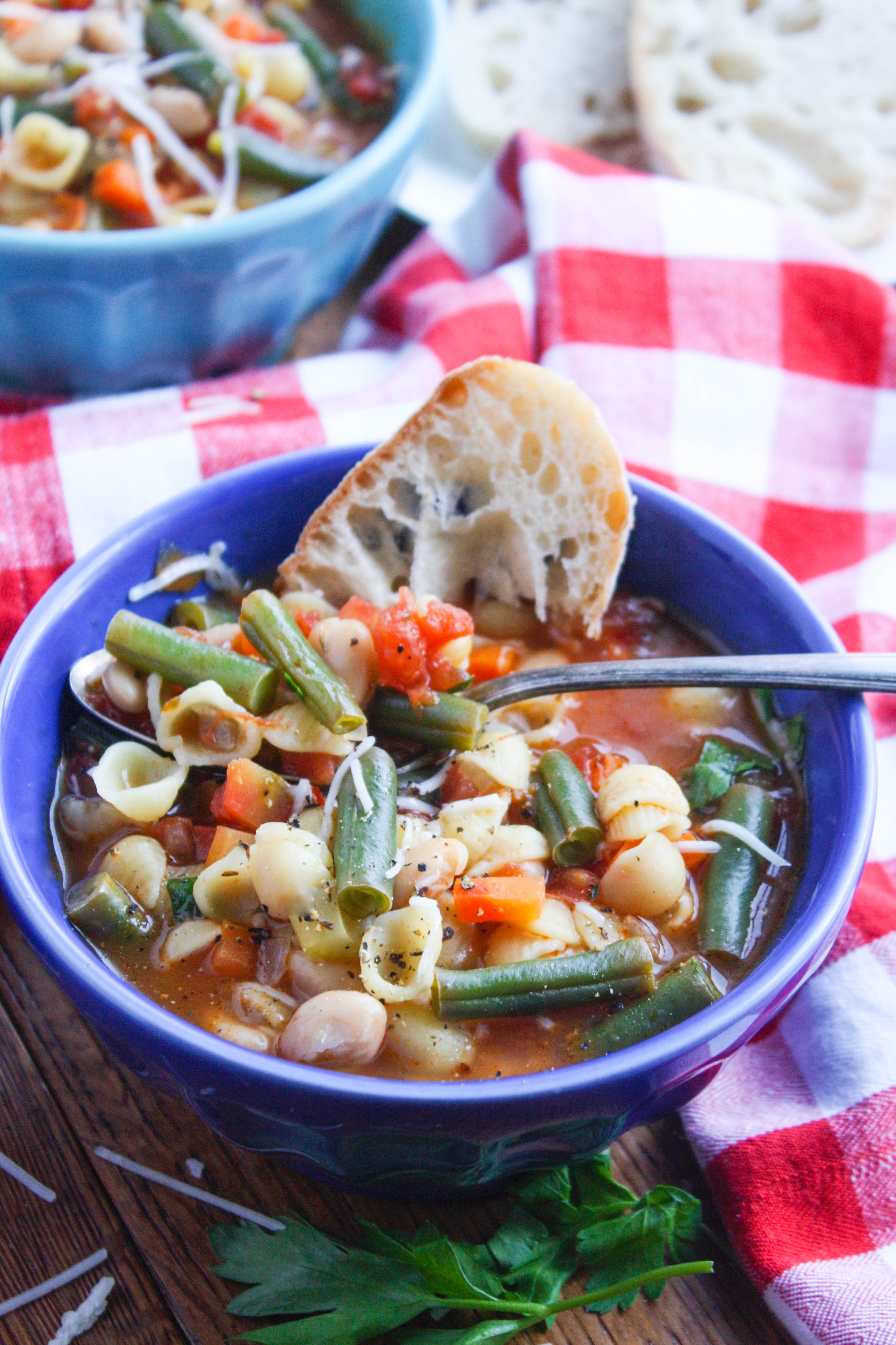 Minestrone Soup is a colorful soup that's so easy to make. You'll love minestrone soup for its wonderful flavor and all its tasty ingredients.